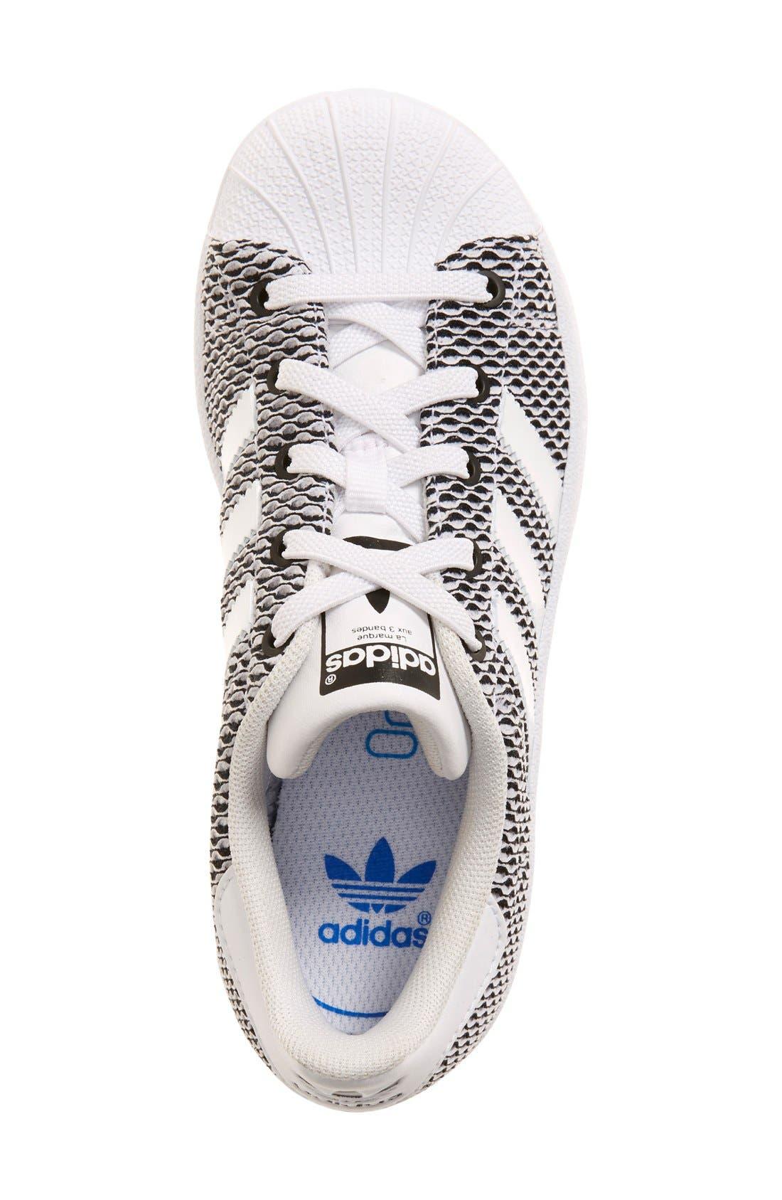 Alternate Image 3  - adidas 'Superstar - Color Shift' Sneaker (Baby, Walker, Toddler, Little Kid & Big Kid)