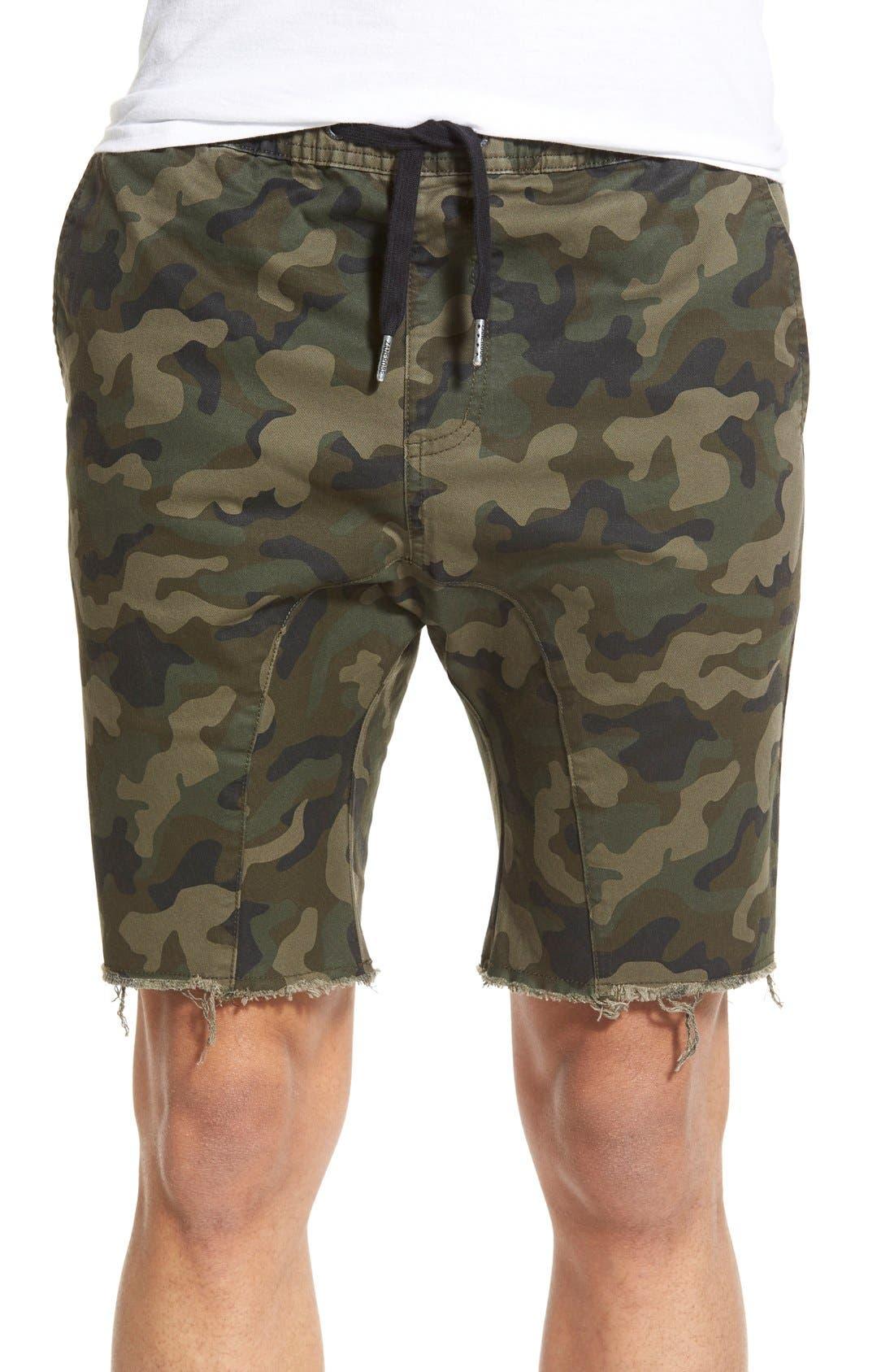 ZANEROBE Sureshot Camo Print Shorts