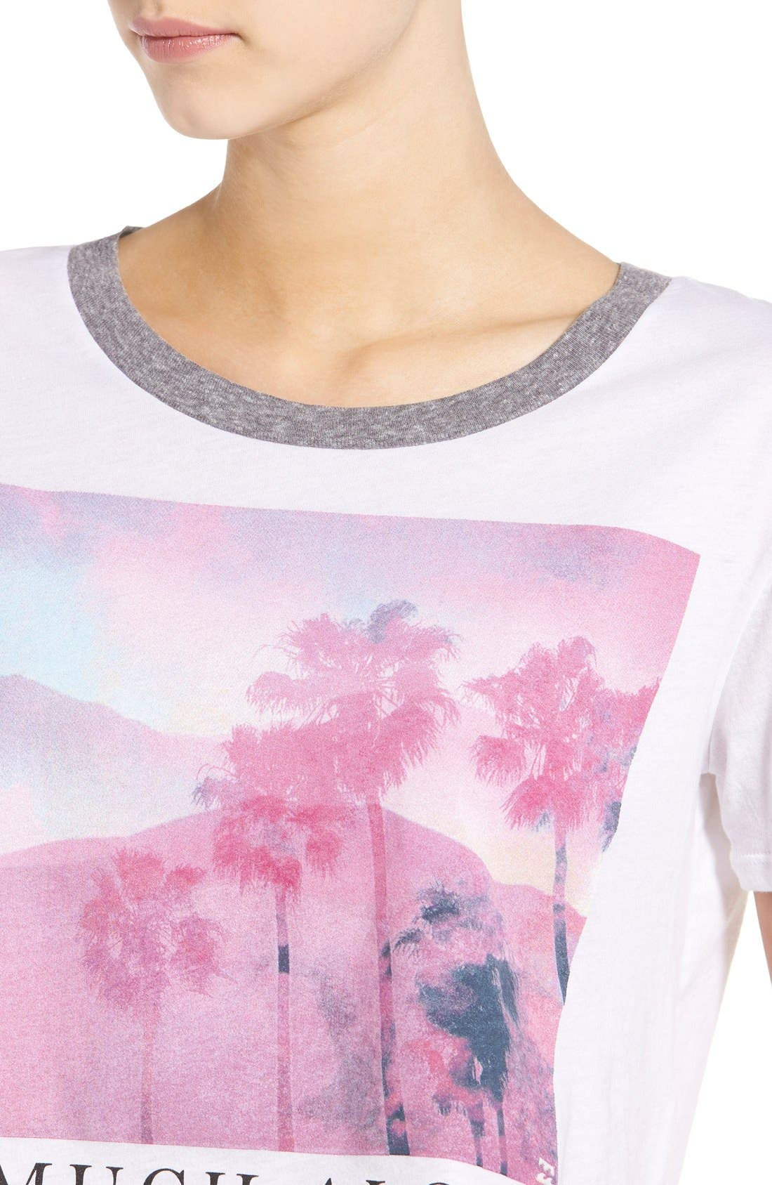 Alternate Image 4  - Billabong 'So Much Aloha' Graphic Crop Tee