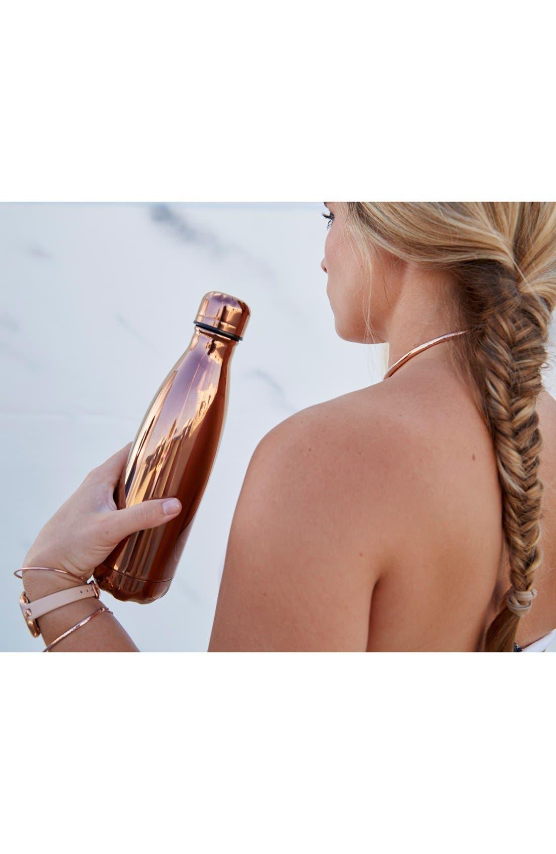 Alternate Image 2  - S'well 'Metallic Collection - Bronze Metallic' Stainless Steel Water Bottle