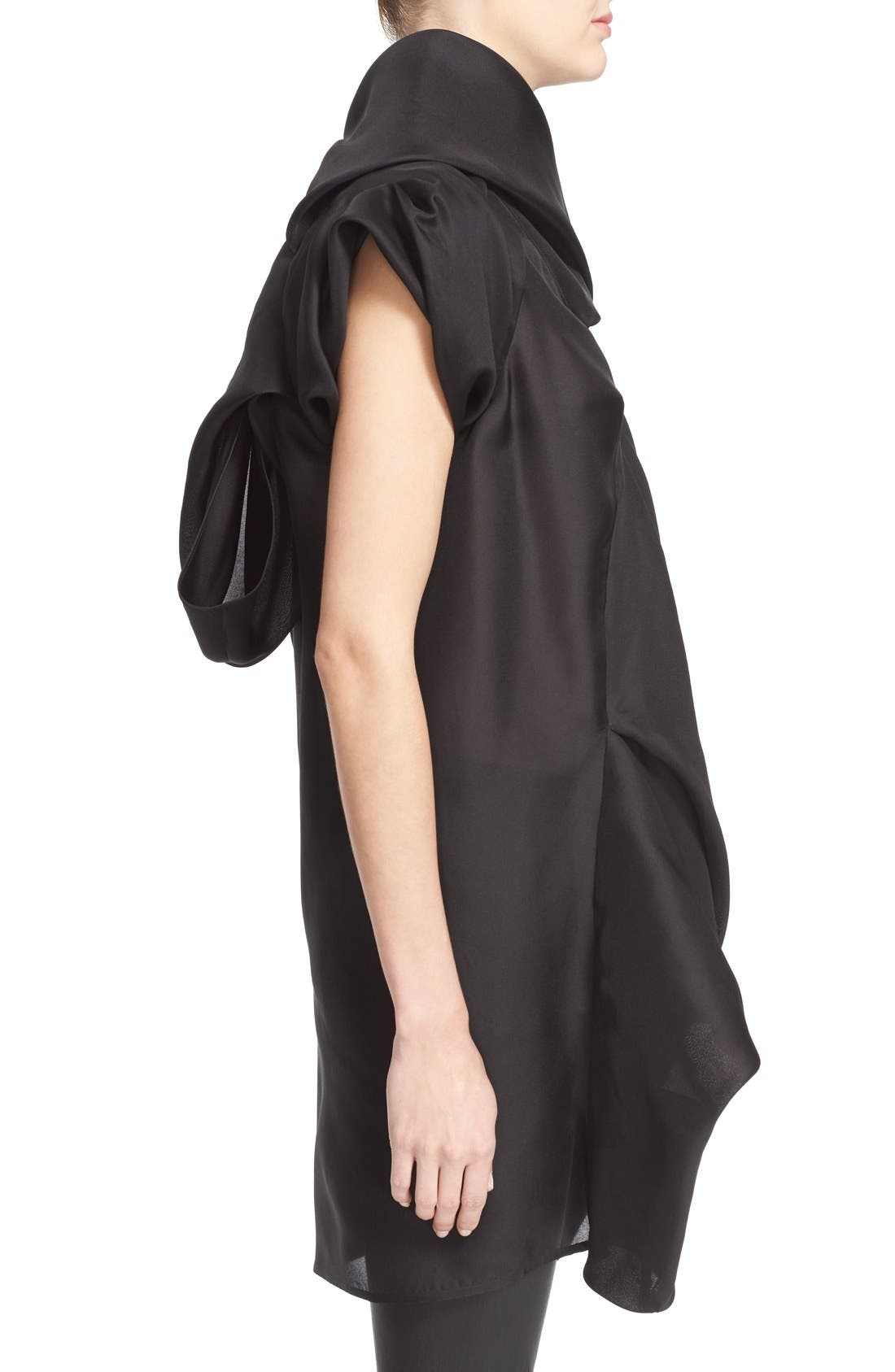 Alternate Image 5  - Rick Owens Draped Silk Tunic