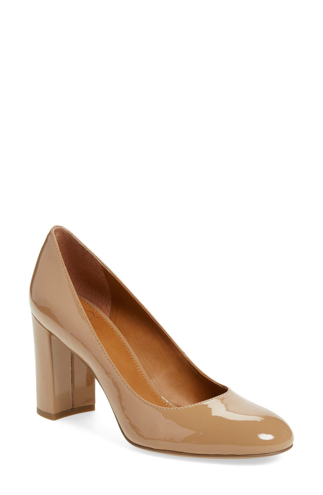 Alternate Image 1 Selected - SARTO by Franco Sarto Aziza Block Heel Pump (Women)