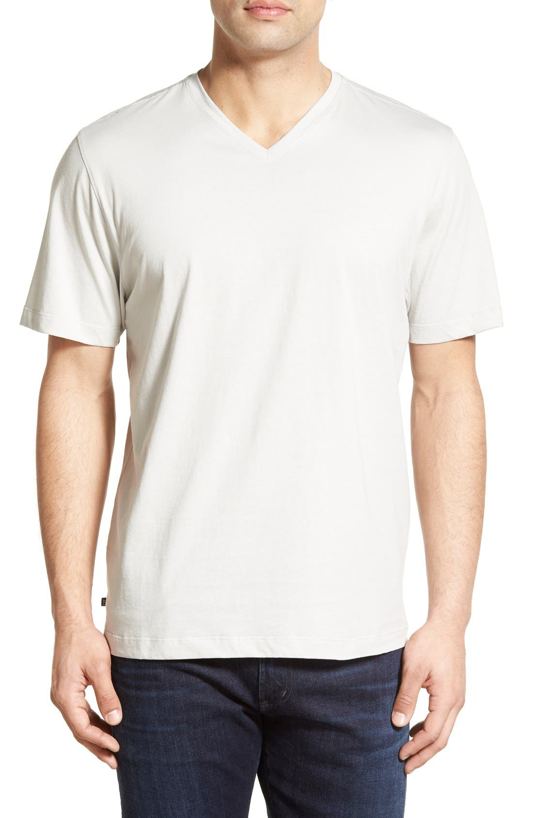 CUTTER & BUCK 'Sida' V-Neck T-Shirt