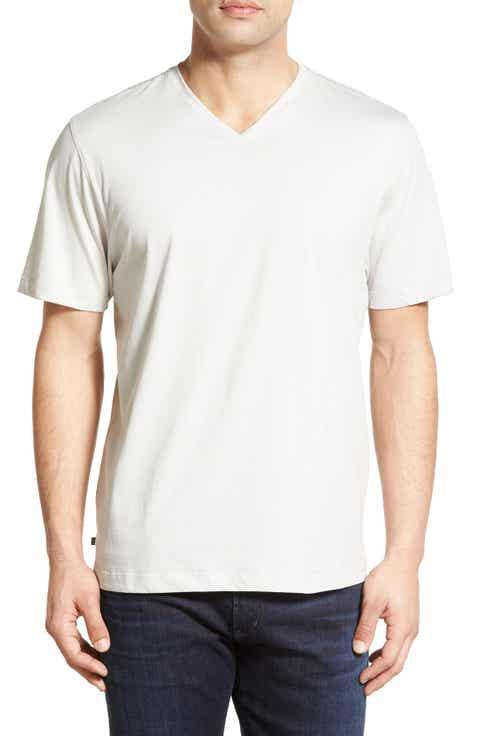Cutter   Buck 'Sida' V-Neck T-Shirt (Big   Tall)