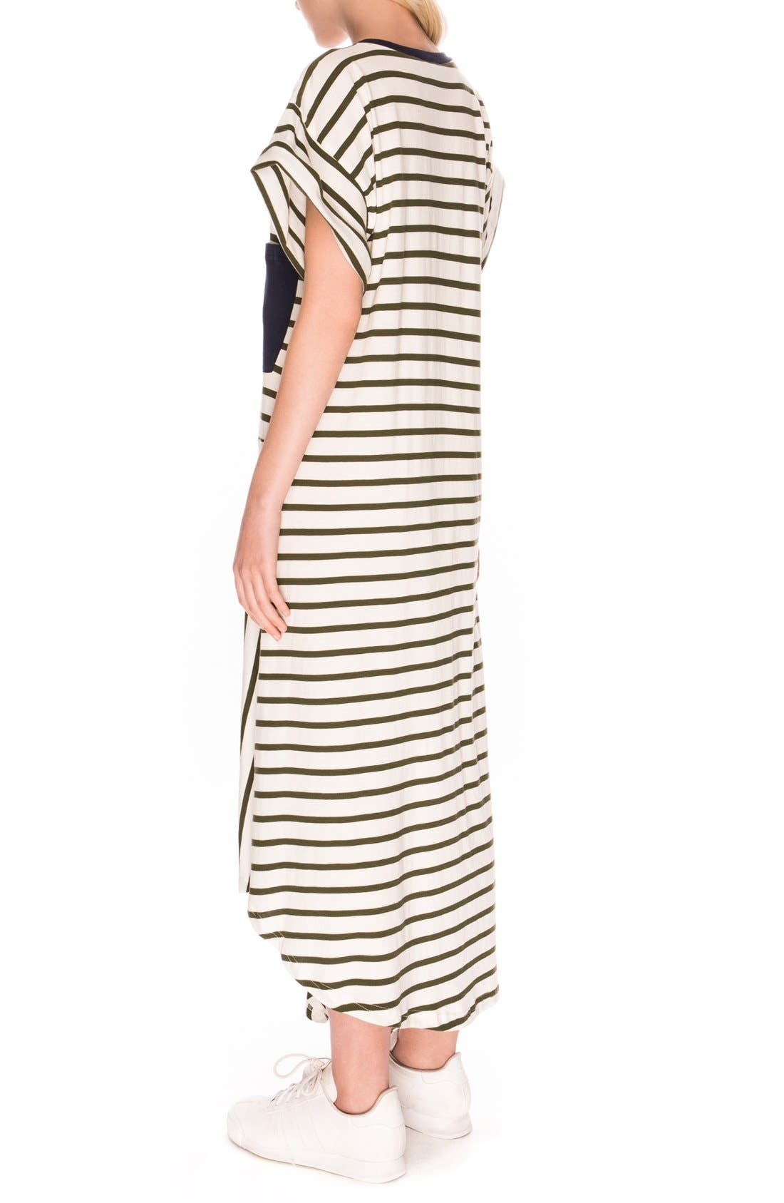 Alternate Image 2  - The Fifth Label 'On Your Mark' Stripe T-Shirt Dress