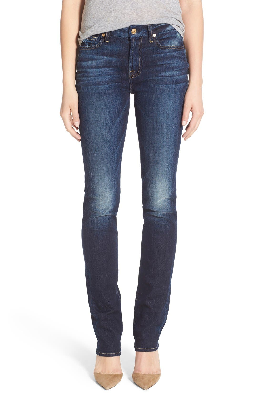 Alternate Image 1 Selected - 7 For All Mankind® 'Kimmie' Straight Leg Jeans