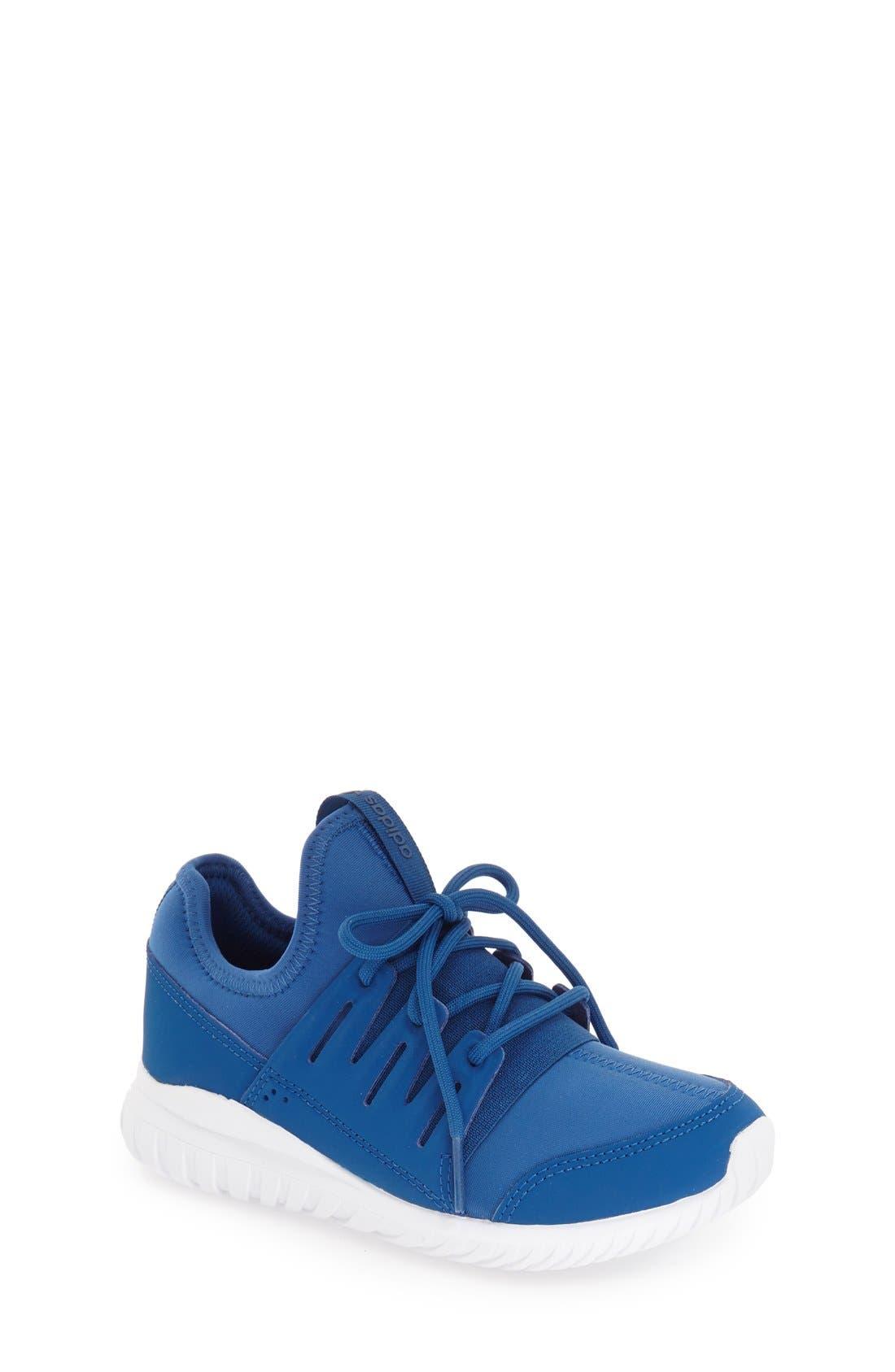 Alternate Image 1 Selected - adidas 'Tubular Radial K' Sneaker (Toddler, Little Kid & Big Kid)