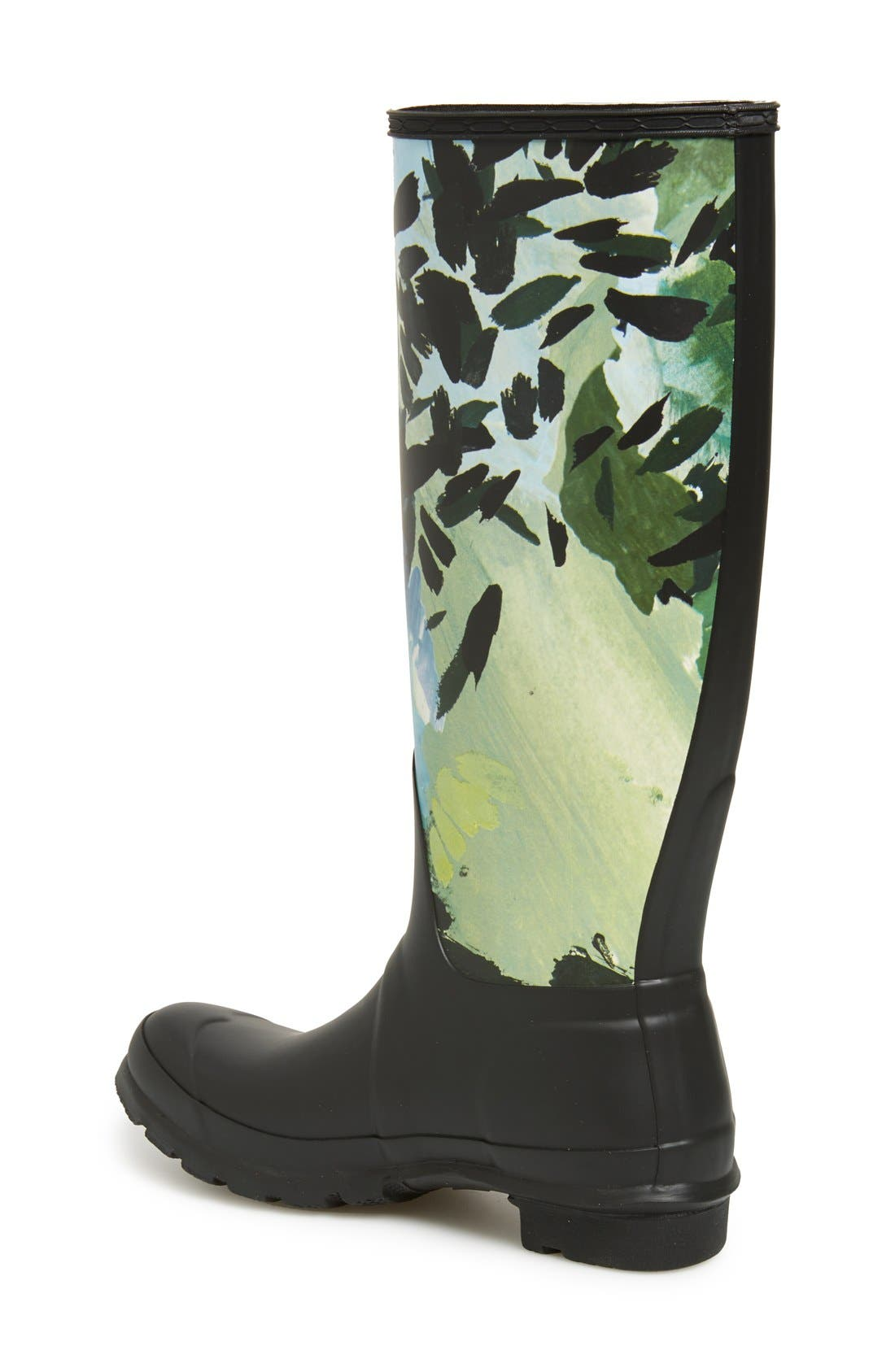 Alternate Image 2  - Hunter 'Original Tall - Botanical' Rain Boot (Women)