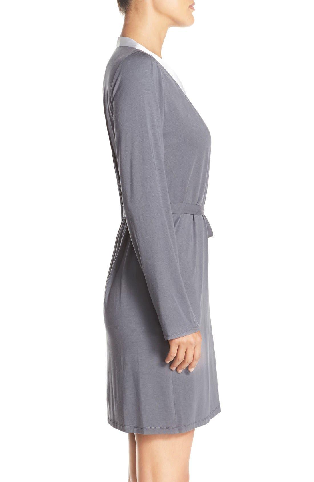 Alternate Image 3  - Calvin Klein 'Essentials' Short Robe