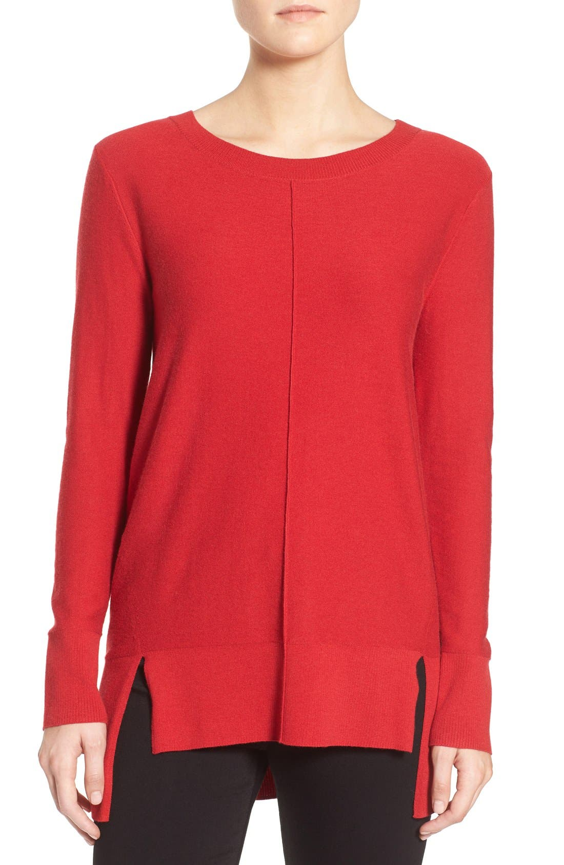 Alternate Image 1 Selected - Trouvé Side Slit Sweater
