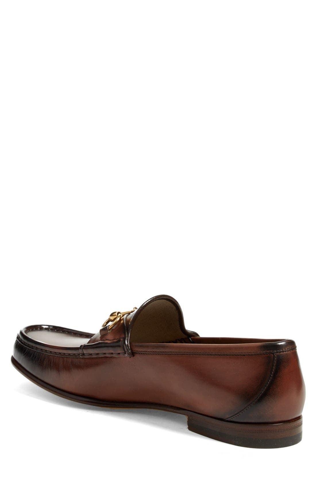 Alternate Image 2  - Gucci 'Roos' Bit Loafer (Men)