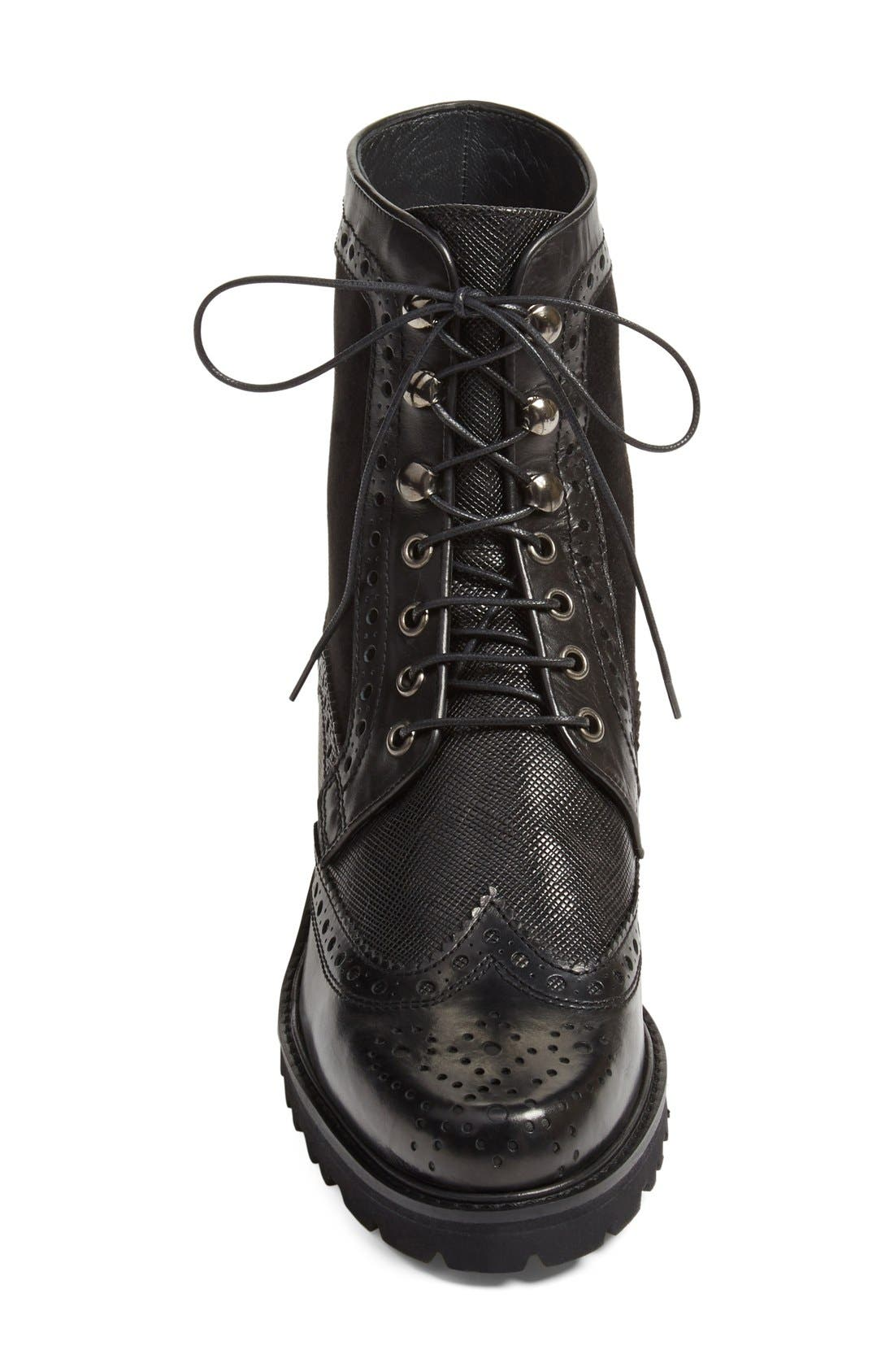 Alternate Image 3  - Stuart Weitzman 'Brogen' Wingtip Boot (Women)