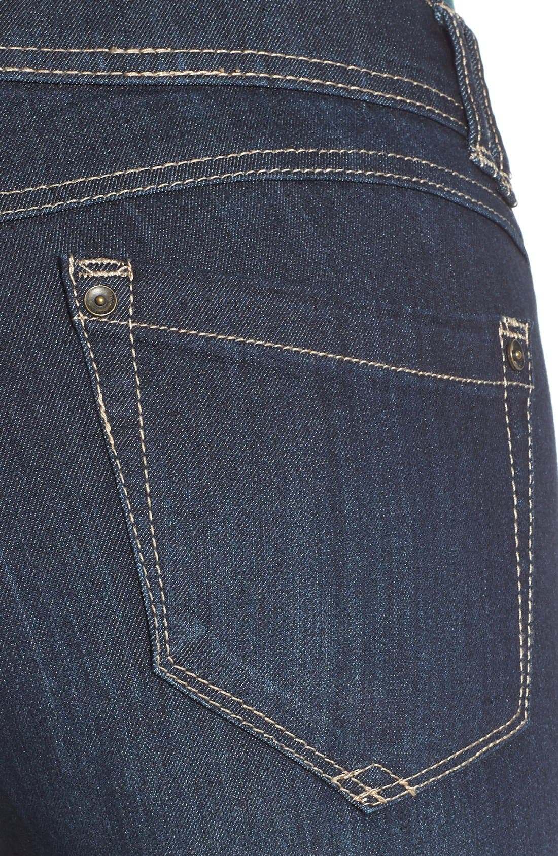 Alternate Image 4  - Wit & Wisdom Ab-solution Itty Bitty Bootcut Jeans (Regular & Petite)