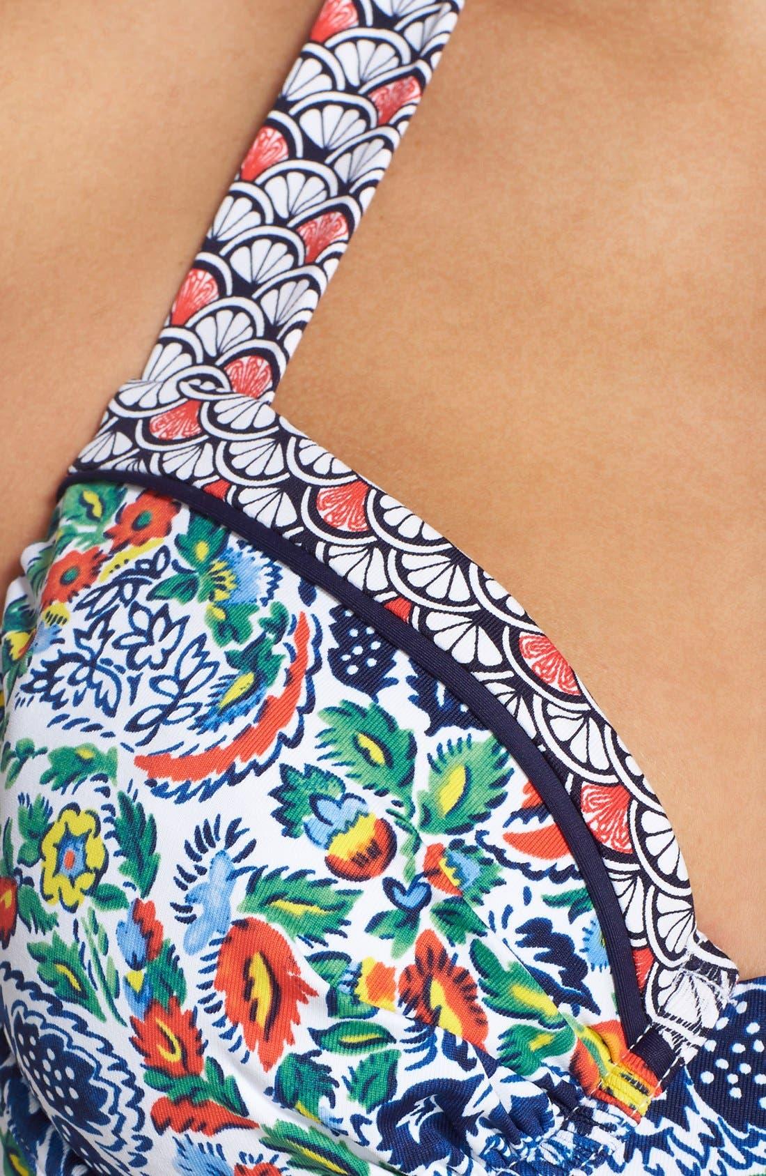 Alternate Image 7  - Tommy Bahama 'Paradise Provincial' Underwire Bikini Top
