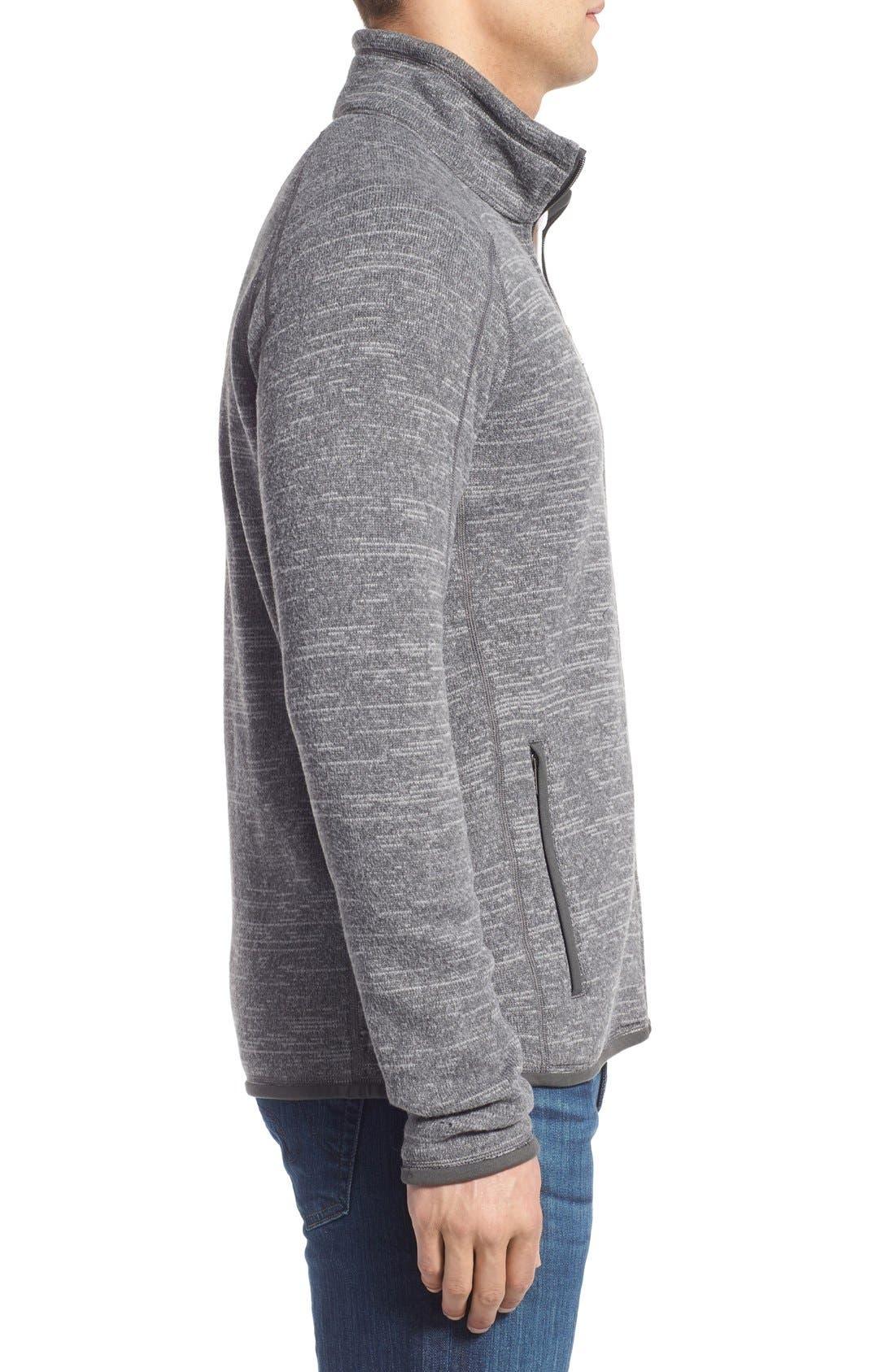 Alternate Image 3  - Patagonia Better Sweater Zip Front Jacket