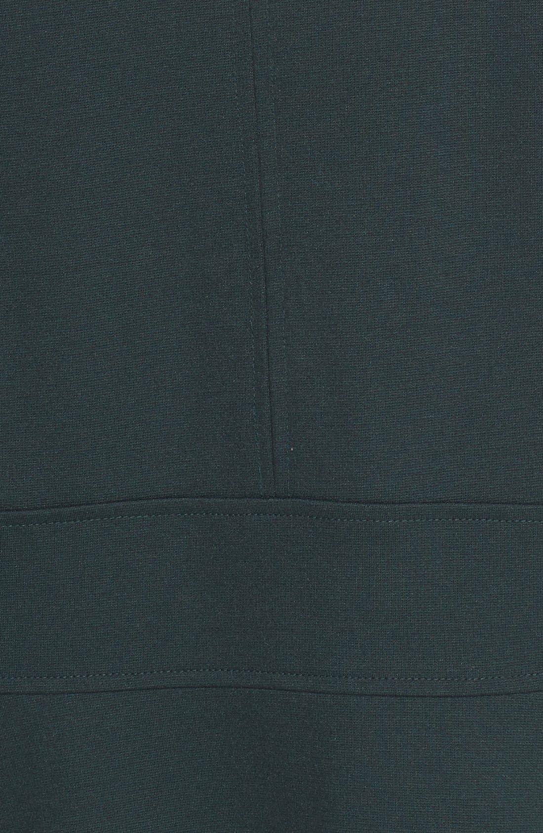 Alternate Image 5  - Eliza J Ruffle Hem Stretch Fit & Flare Dress