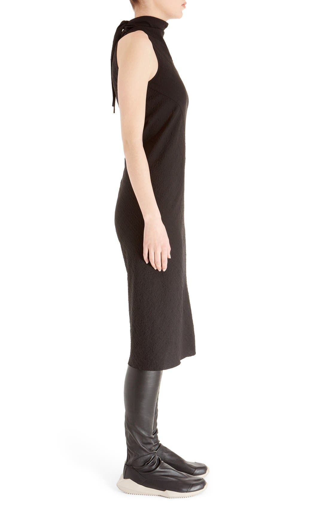Alternate Image 4  - Rick Owens Sleeveless Jacquard Sheath Dress