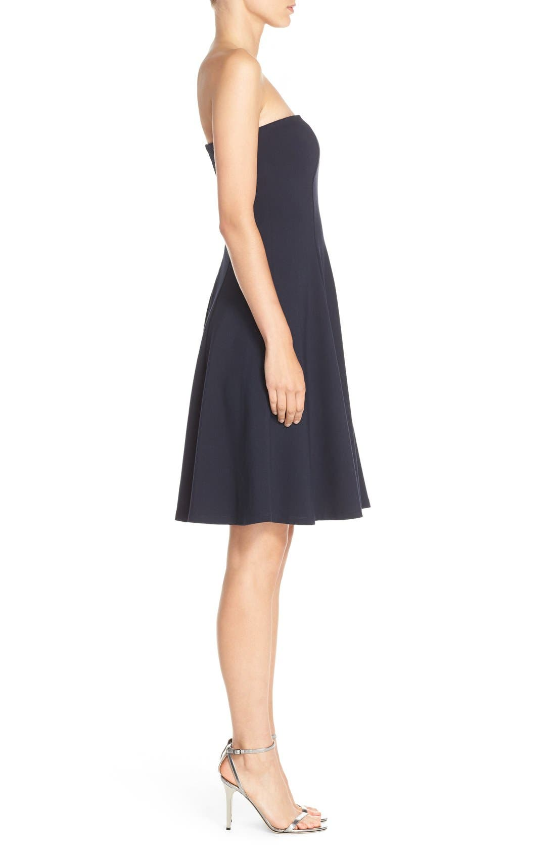 Alternate Image 3  - Felicity & Coco Strapless Fit & Flare Dress (Nordstrom Exclusive)