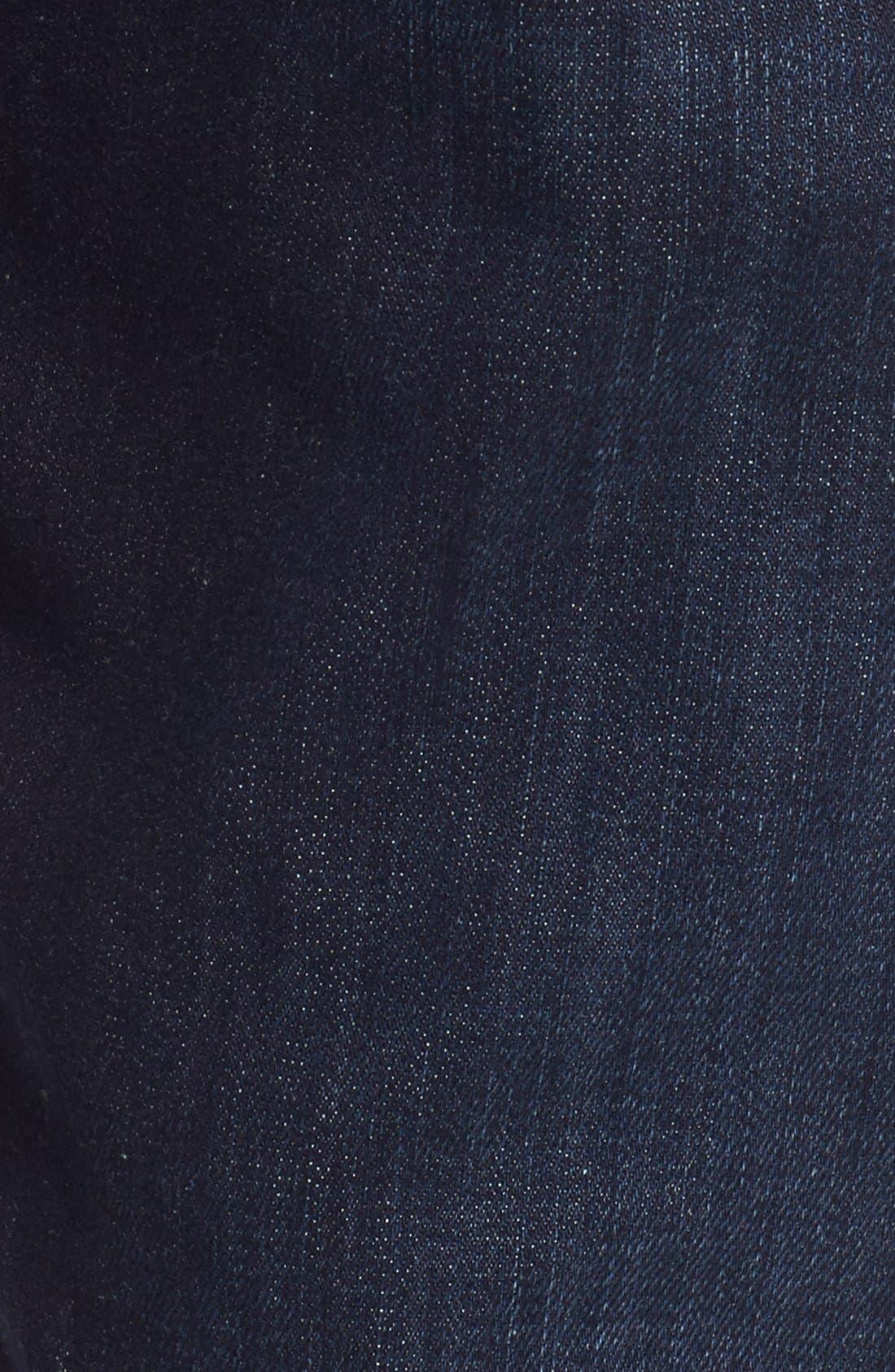Alternate Image 5  - 7 For All Mankind® 'Straight - Luxe Performance' Slim Straight Leg Jeans (Rebellion)