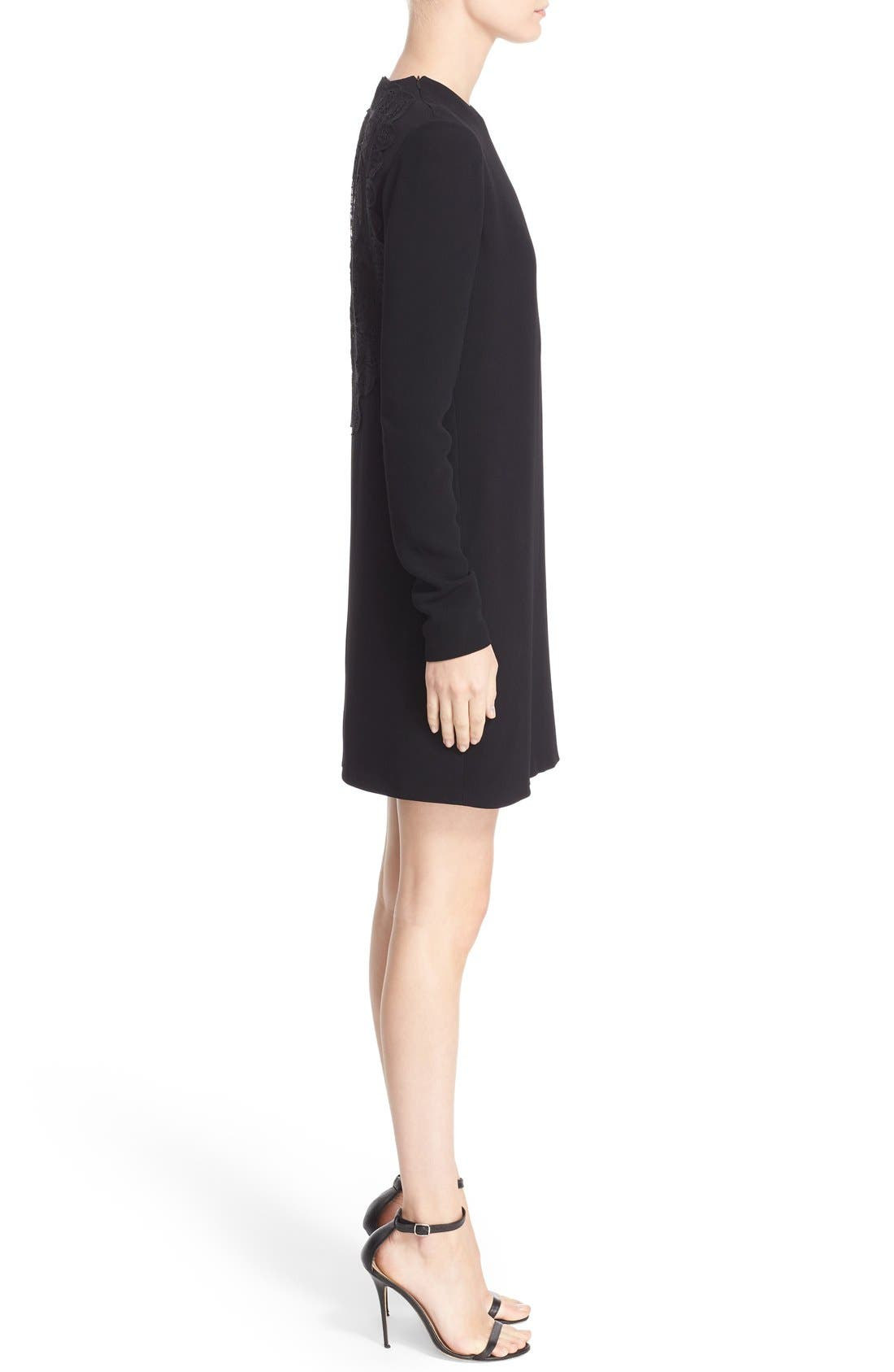 Alternate Image 5  - Victoria Beckham Lace Back Cady Shift Dress