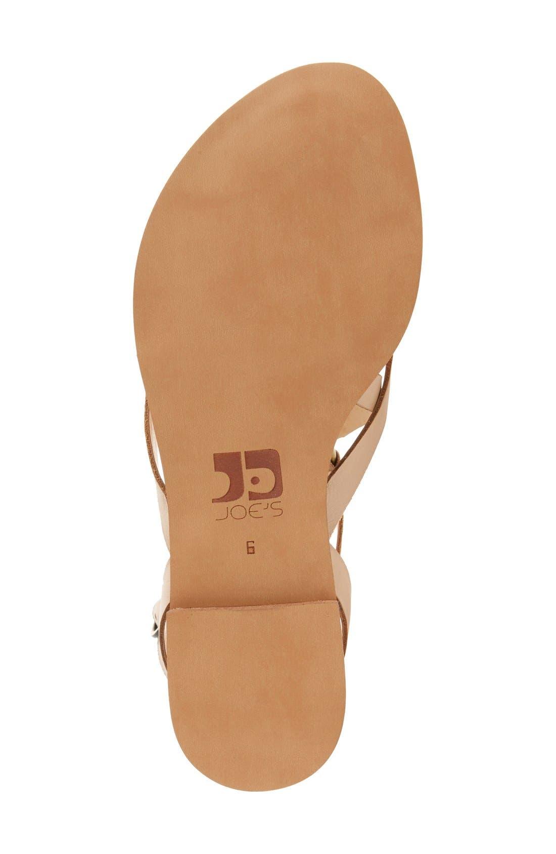 Alternate Image 4  - Joe's 'Victor' Strappy Flat Sandal (Women)