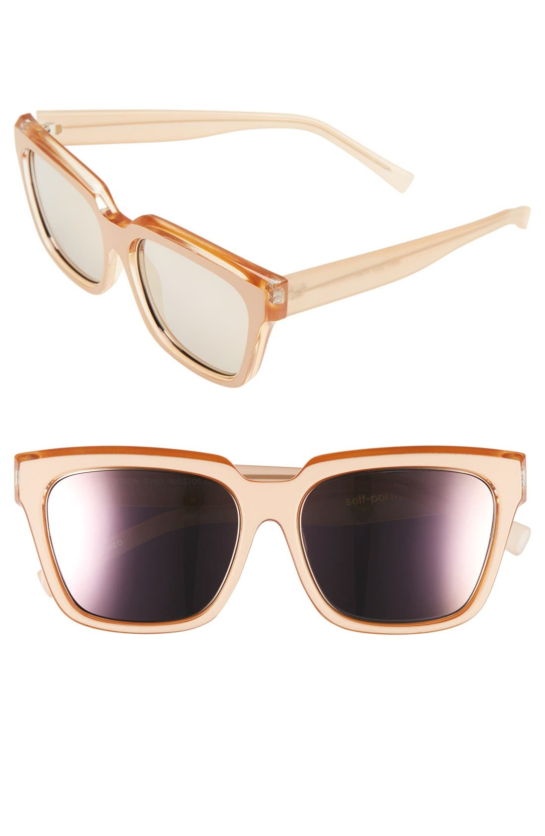 Le Specs 'Edition Two' 55mm Sunglasses