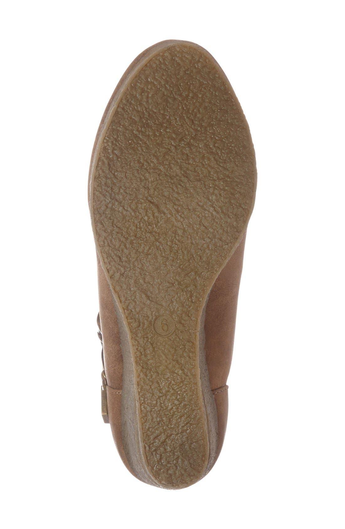 Alternate Image 4  - Sbicca 'Javiera' Platform Wedge Bootie (Women)