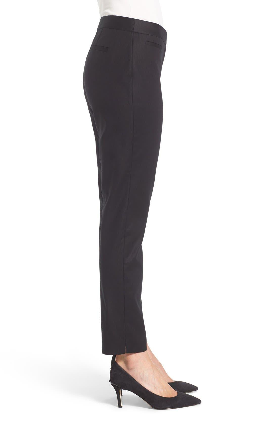 Alternate Image 3  - Cece Double Weave Slim Pants