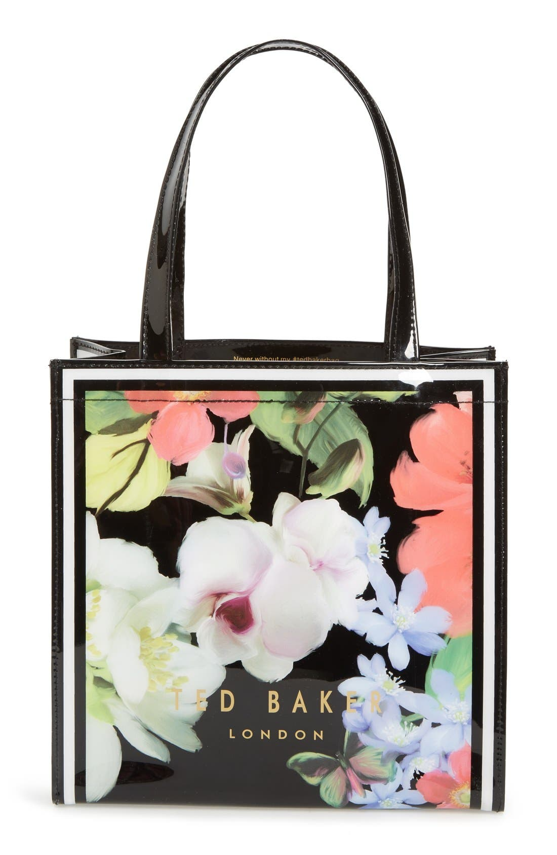 Alternate Image 1 Selected - Ted Baker London 'Small Icon - Forget Me Not' Tote