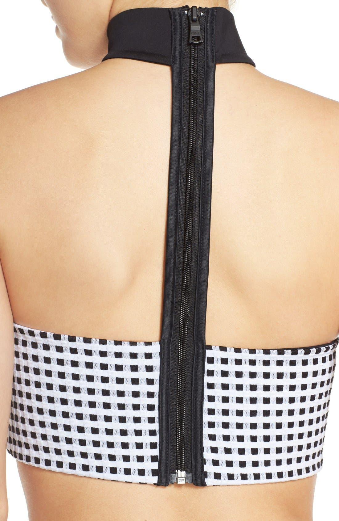 Alternate Image 5  - ONIA 'Laura' Choker Bandeau Bikini Top