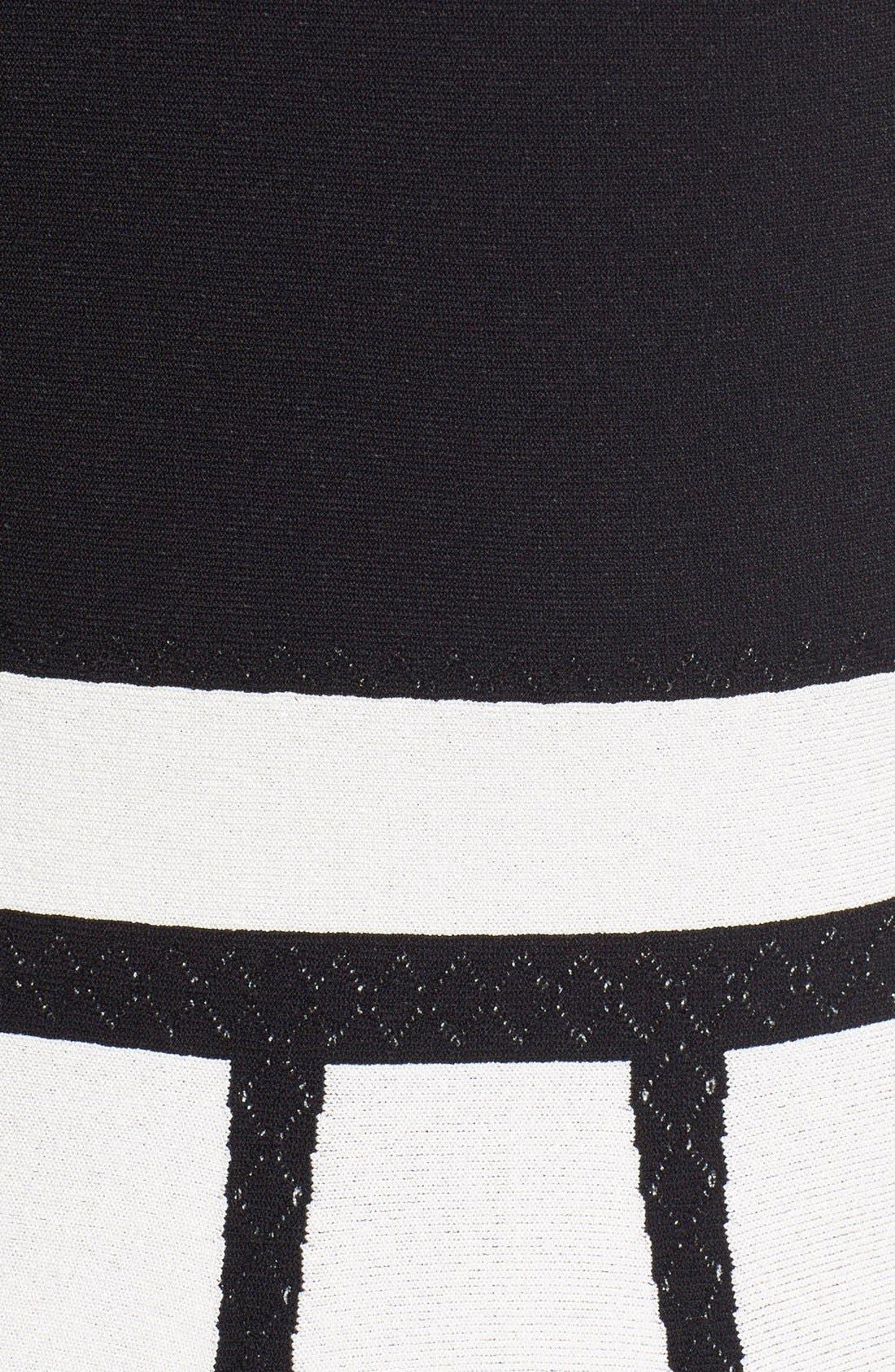 Alternate Image 3  - Alexander McQueen Intarsia Knit Fit & Flare Dress