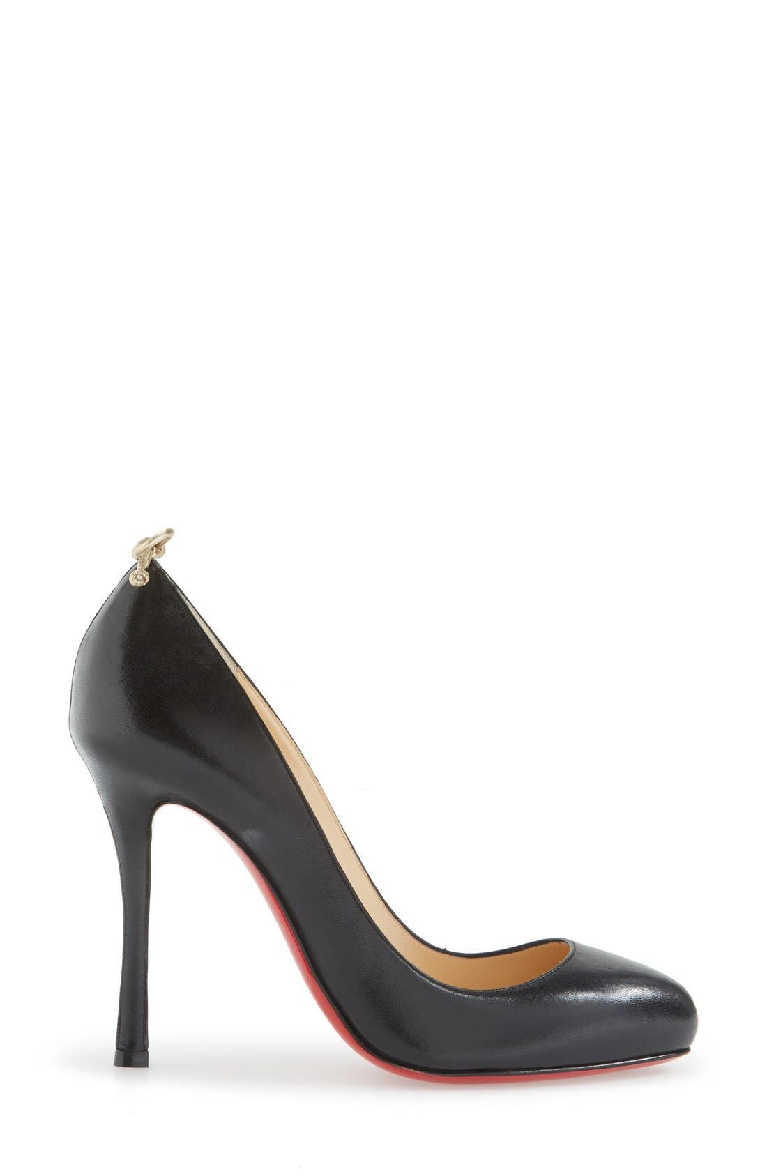 Alternate Image 4  - Christian Louboutin 'Very Gemma' Bow Pump