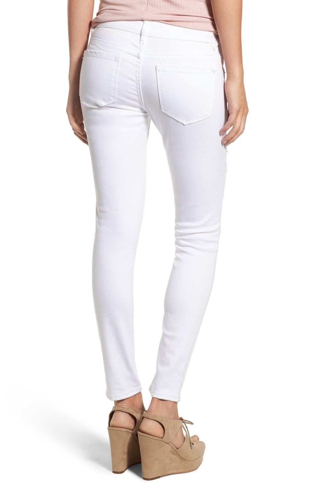 Alternate Image 2  - Vigoss Distressed Skinny Jeans