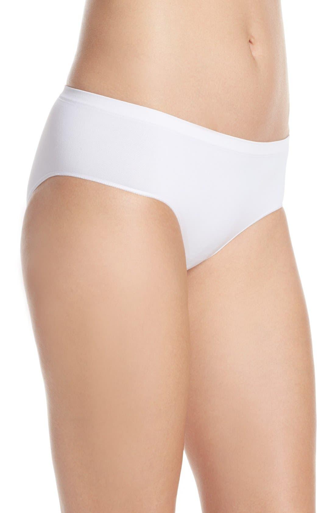 Alternate Image 3  - Nordstrom Lingerie Seamless Hipster Panties (3 for $33)