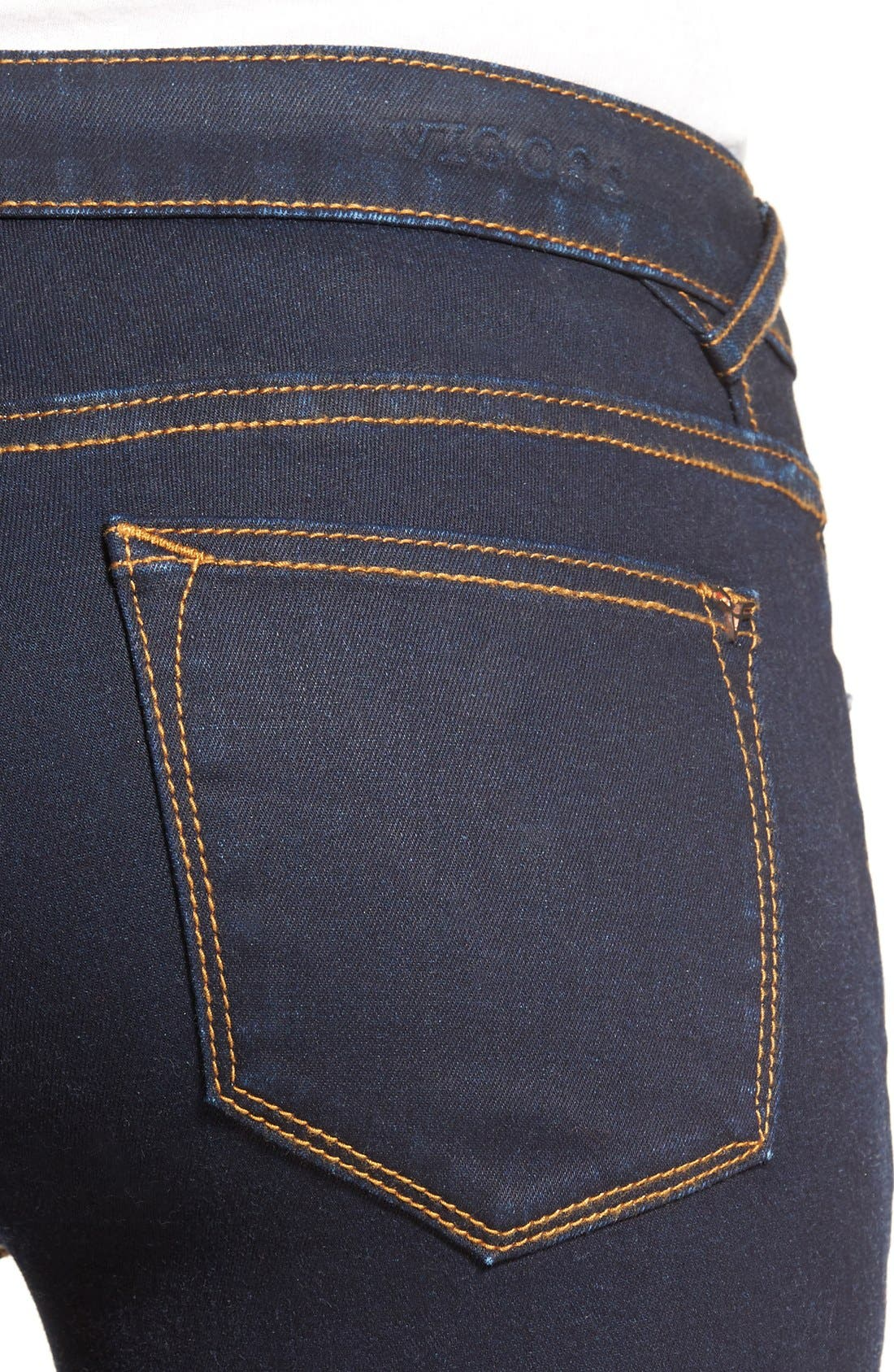 Alternate Image 5  - Vigoss Crop Skinny Jeans