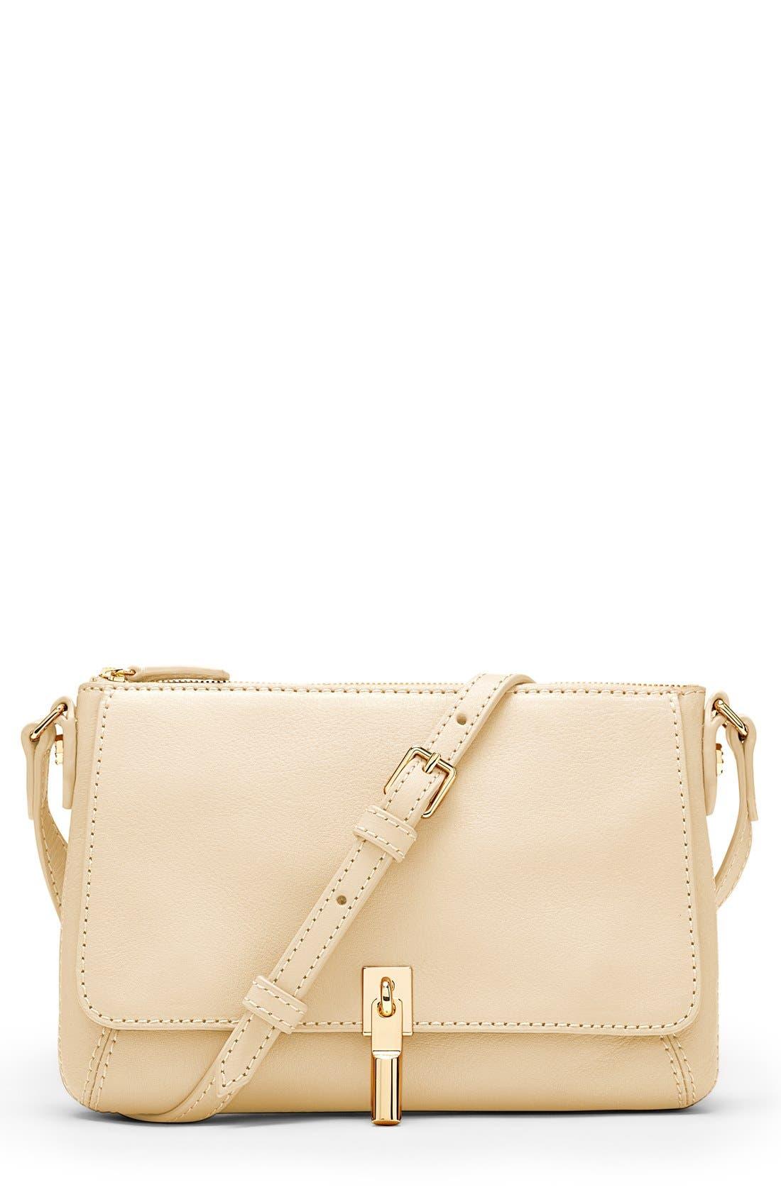 Main Image - Elizabeth and James 'Micro Cynnie' Leather Crossbody Bag