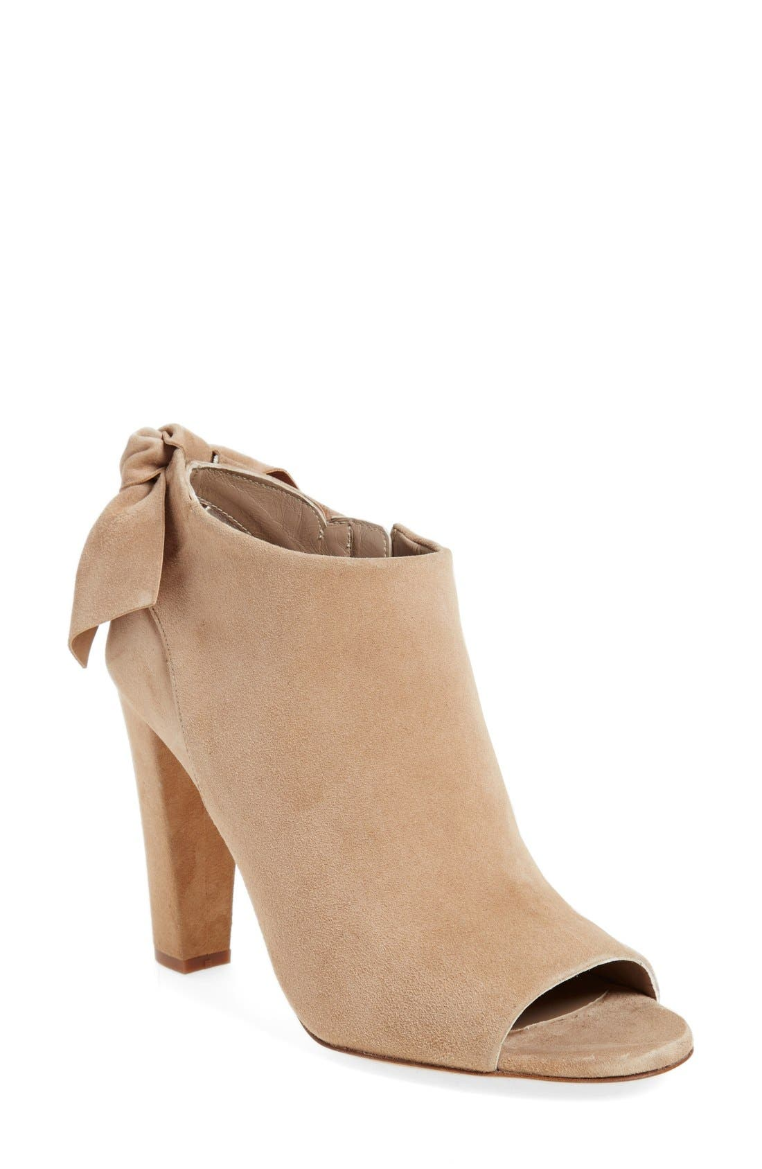 Alternate Image 1 Selected - Delman 'Dylan' Peep Toe Bootie (Women)