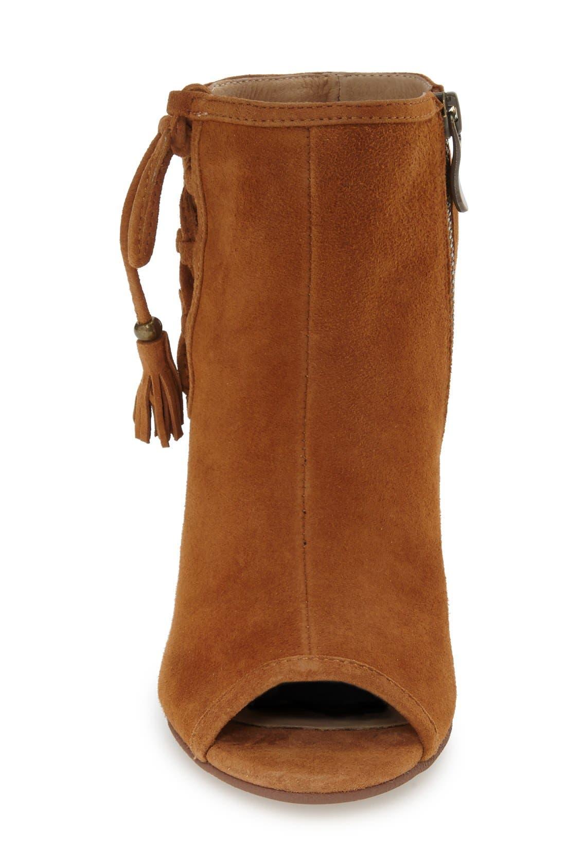 Alternate Image 3  - Kristin Cavallari 'Legend' Peep Toe Zip Bootie (Women)
