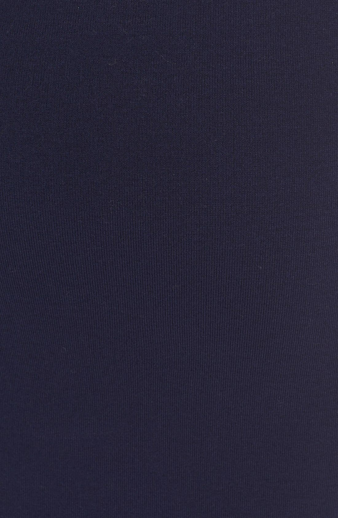 Alternate Image 5  - Milly Structured Side Slit Skirt