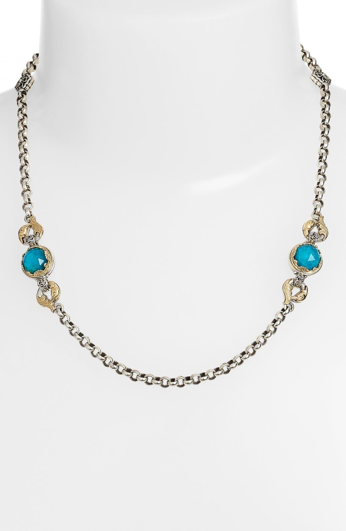 KONSTANTINO 'Iliada' Semiprecious Stone Necklace