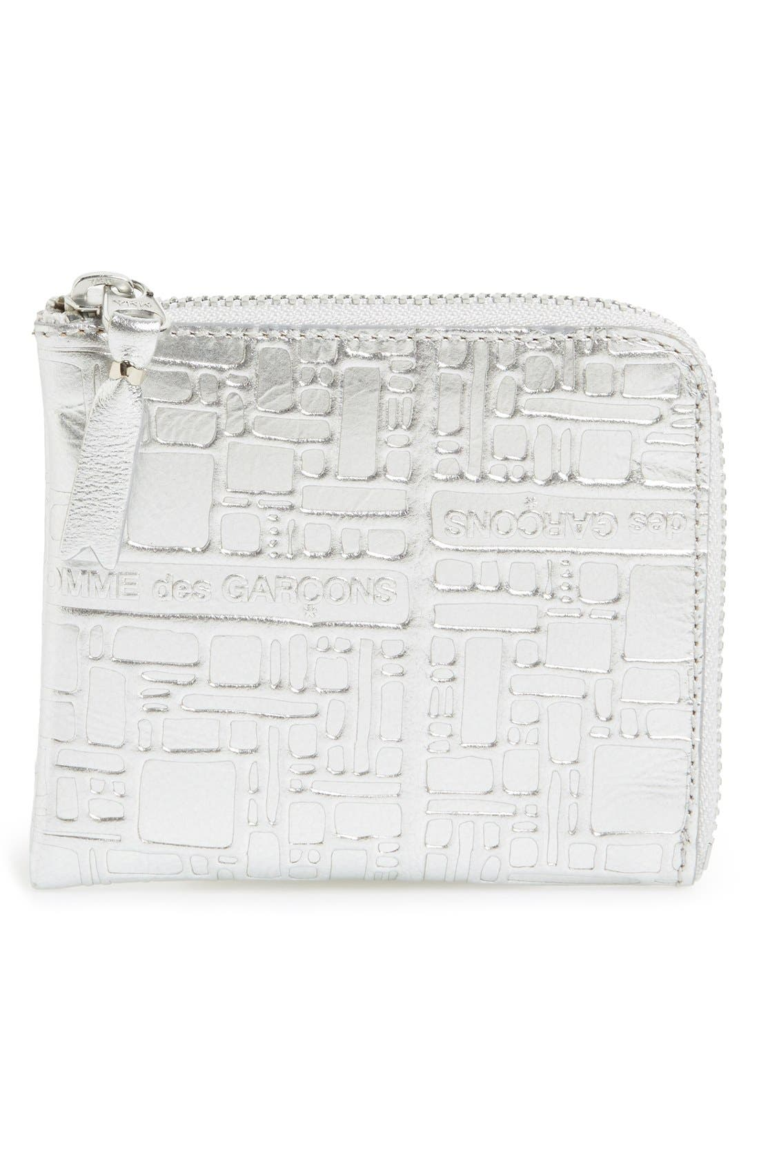 Comme des Garçons Embossed French Wallet