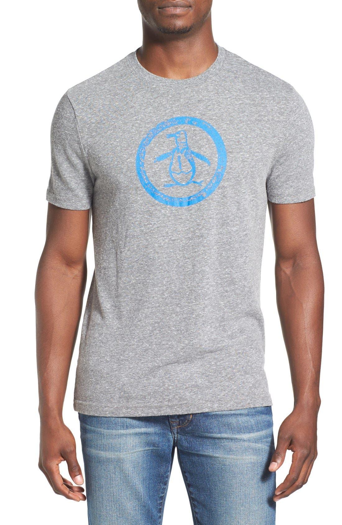 Original Penguin Distressed Logo T-Shirt