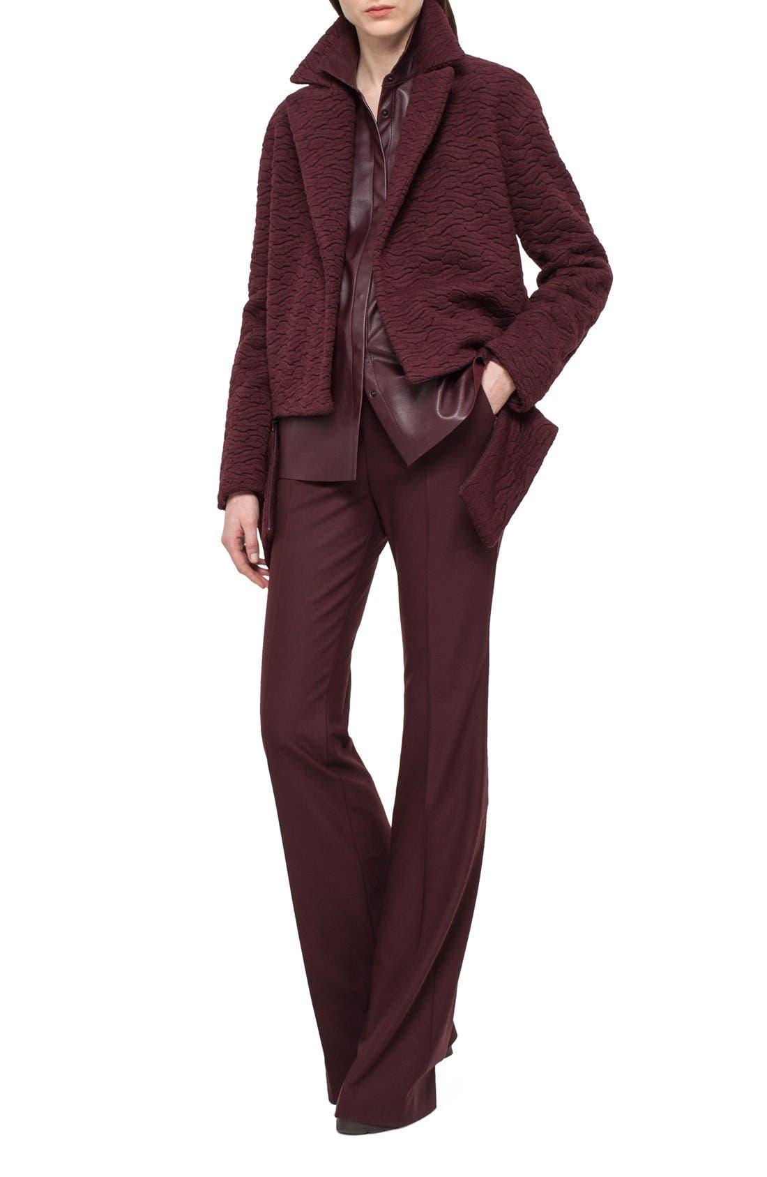 Alternate Image 3  - Akris 'Fairytale' Stretch Wool Flannel Pants