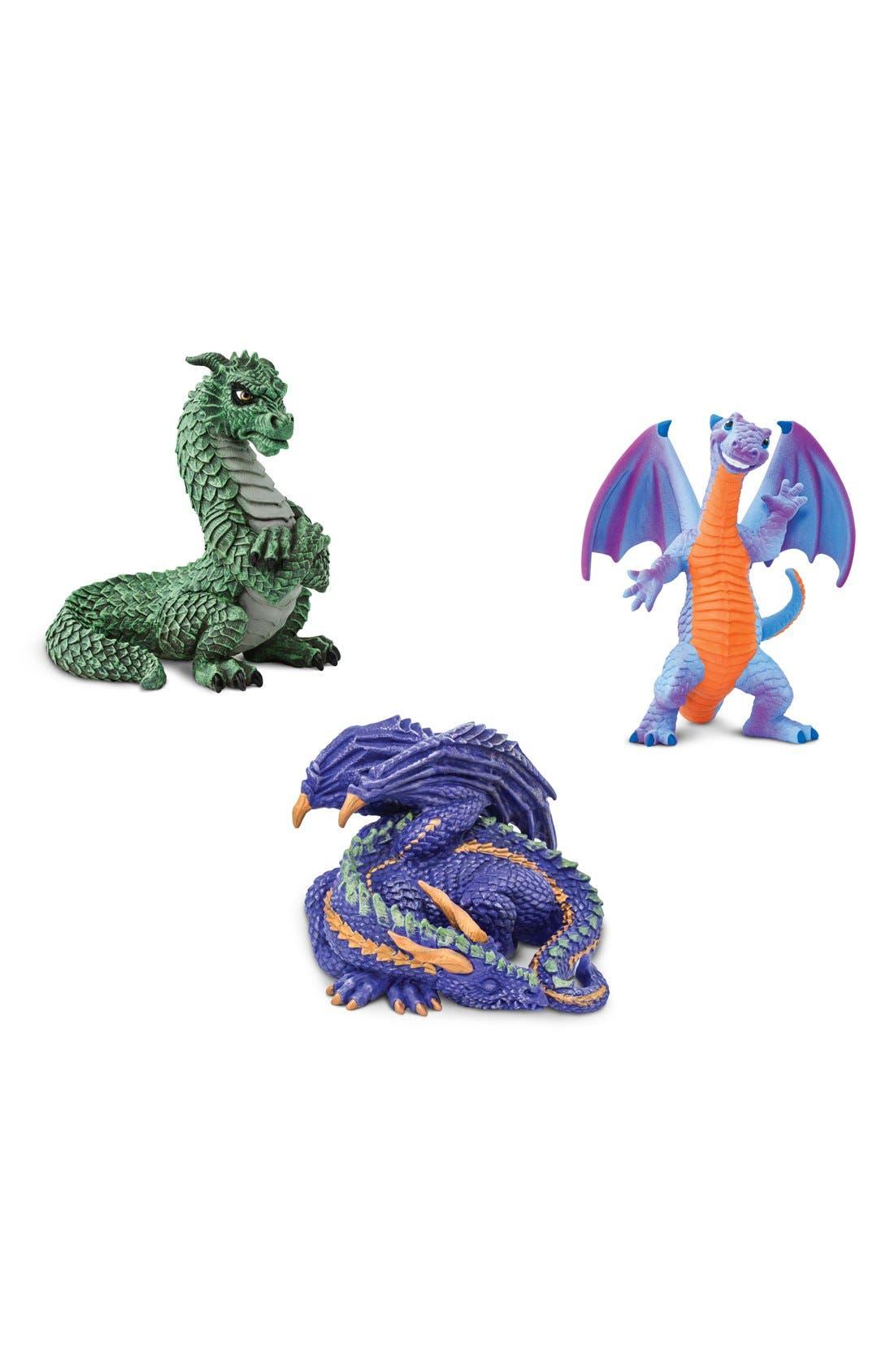 Safari Ltd. Dragon Figurines (Set of 3)