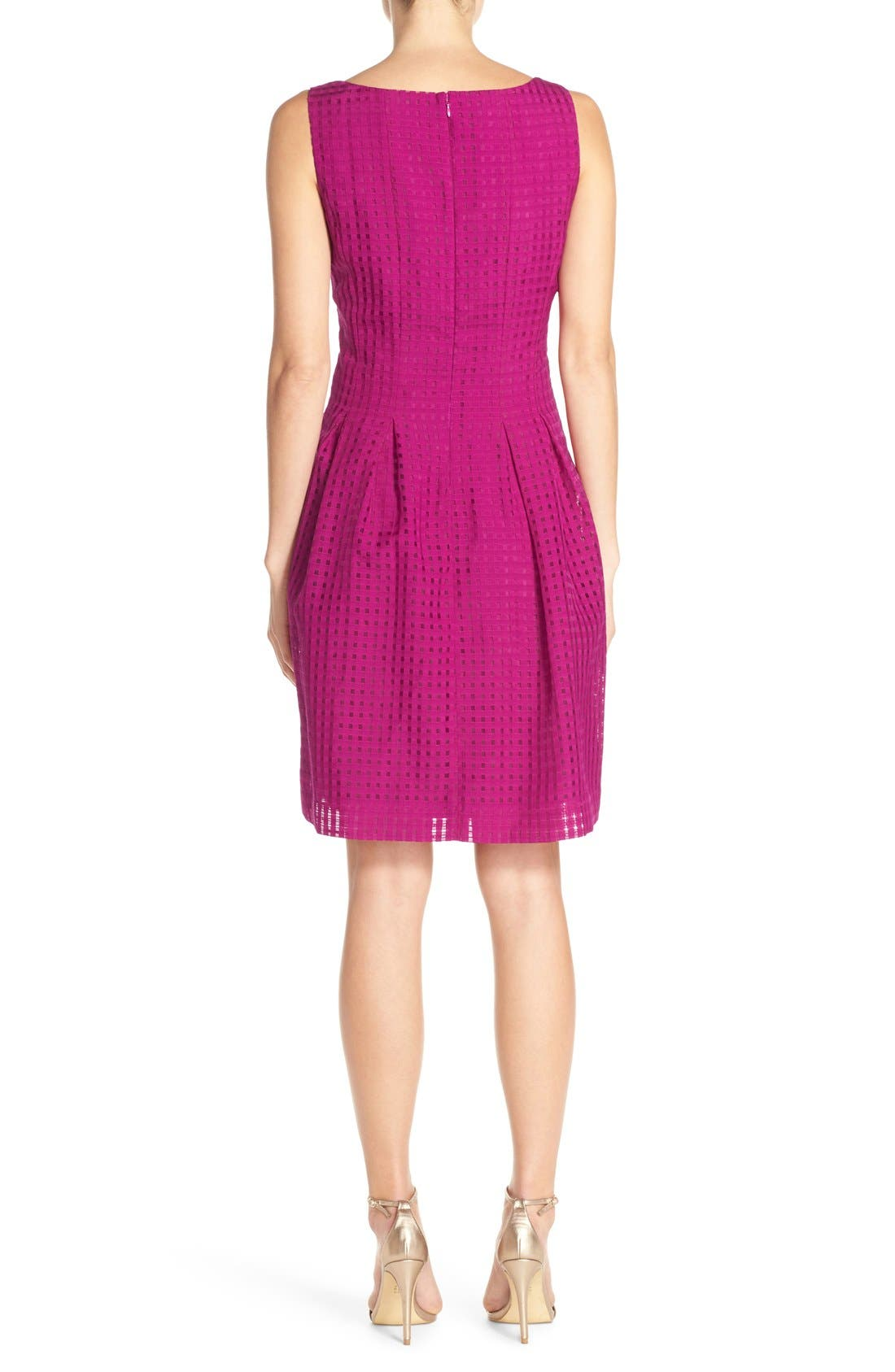 Alternate Image 2  - Ivanka Trump Sleeveless Fit & Flare Dress