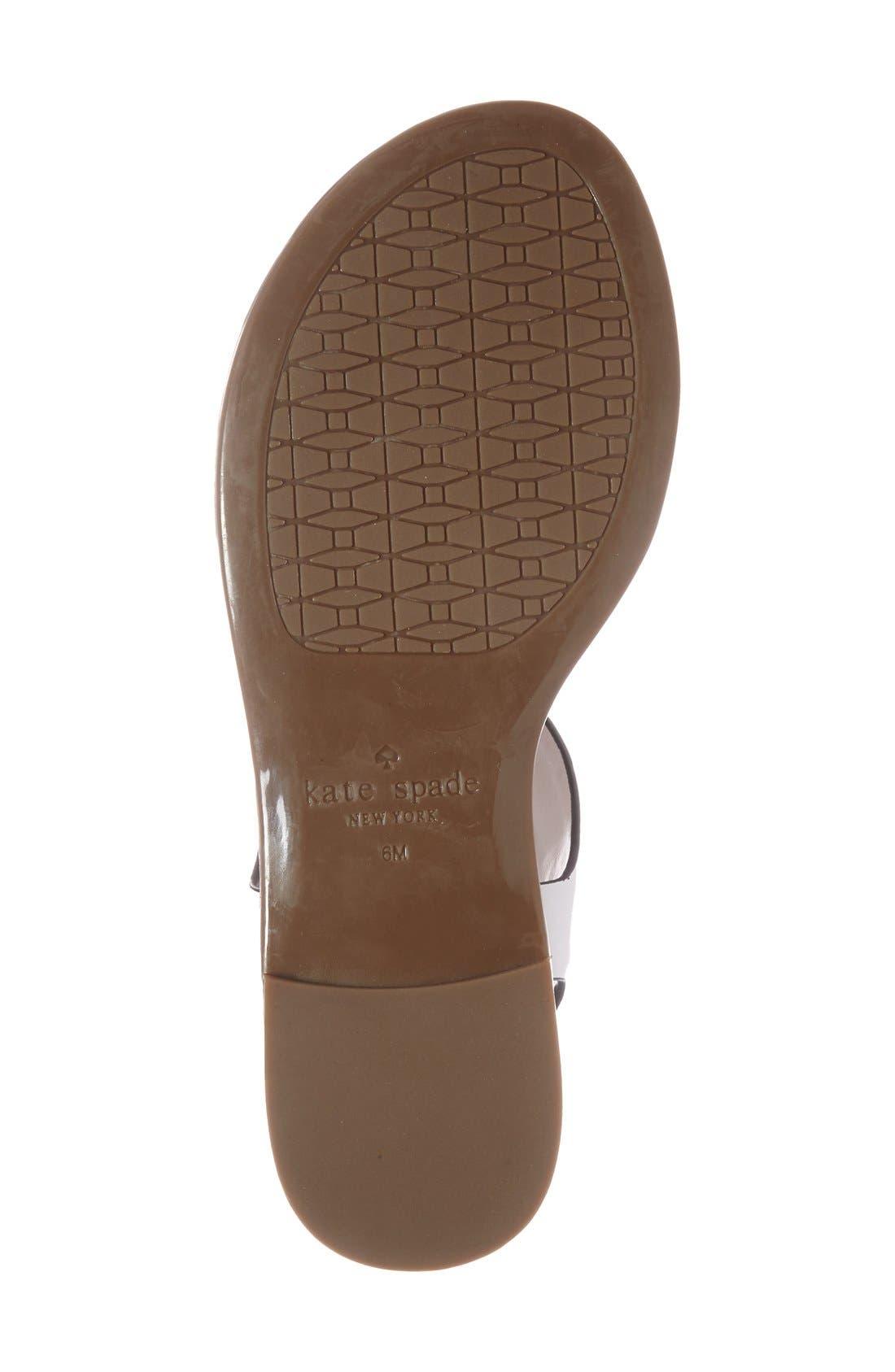 Alternate Image 4  - kate spade new york 'charlie' sandal (Women)