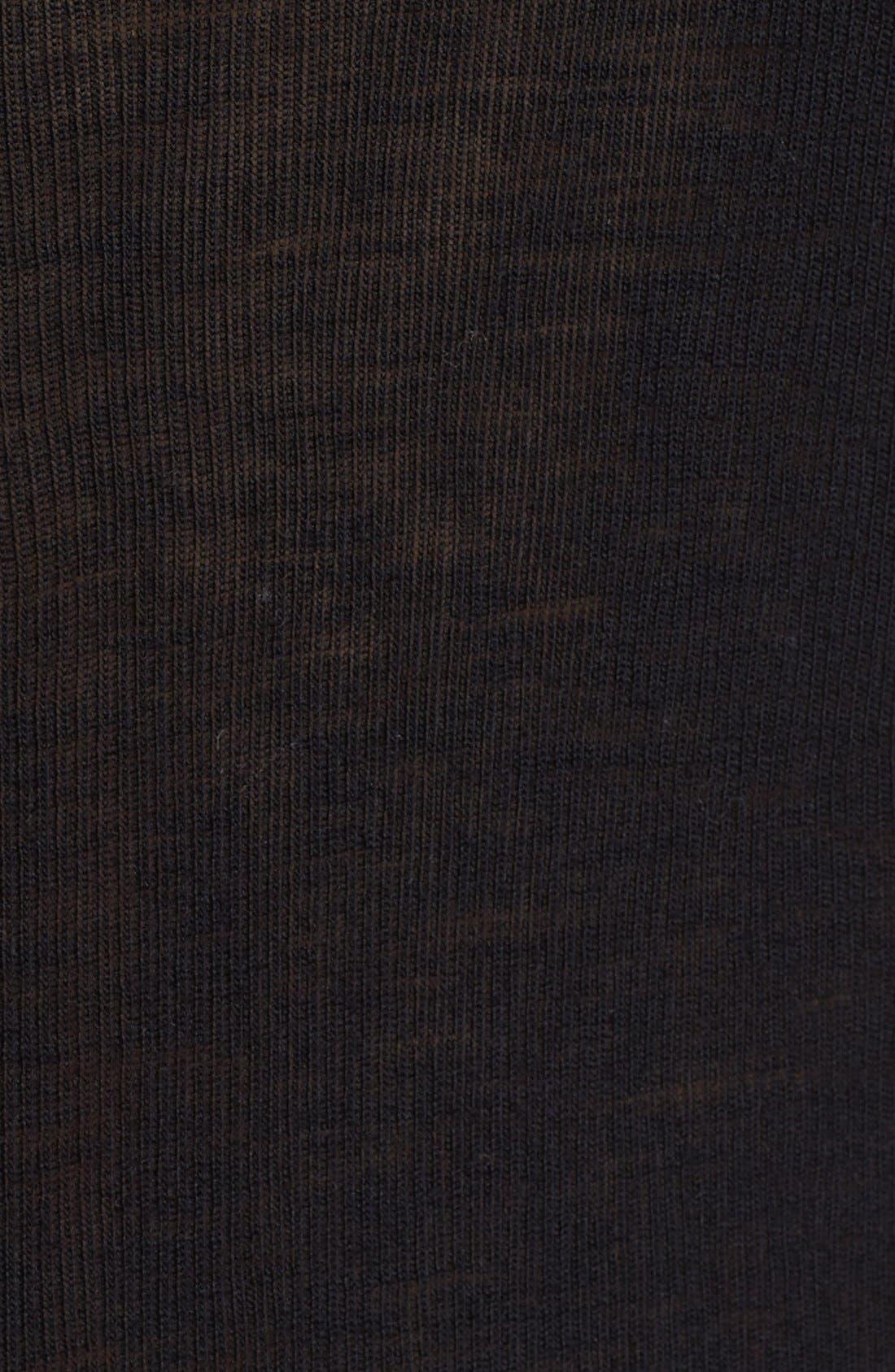 Alternate Image 5  - T by Alexander Wang Rib Knit Wool Sweater