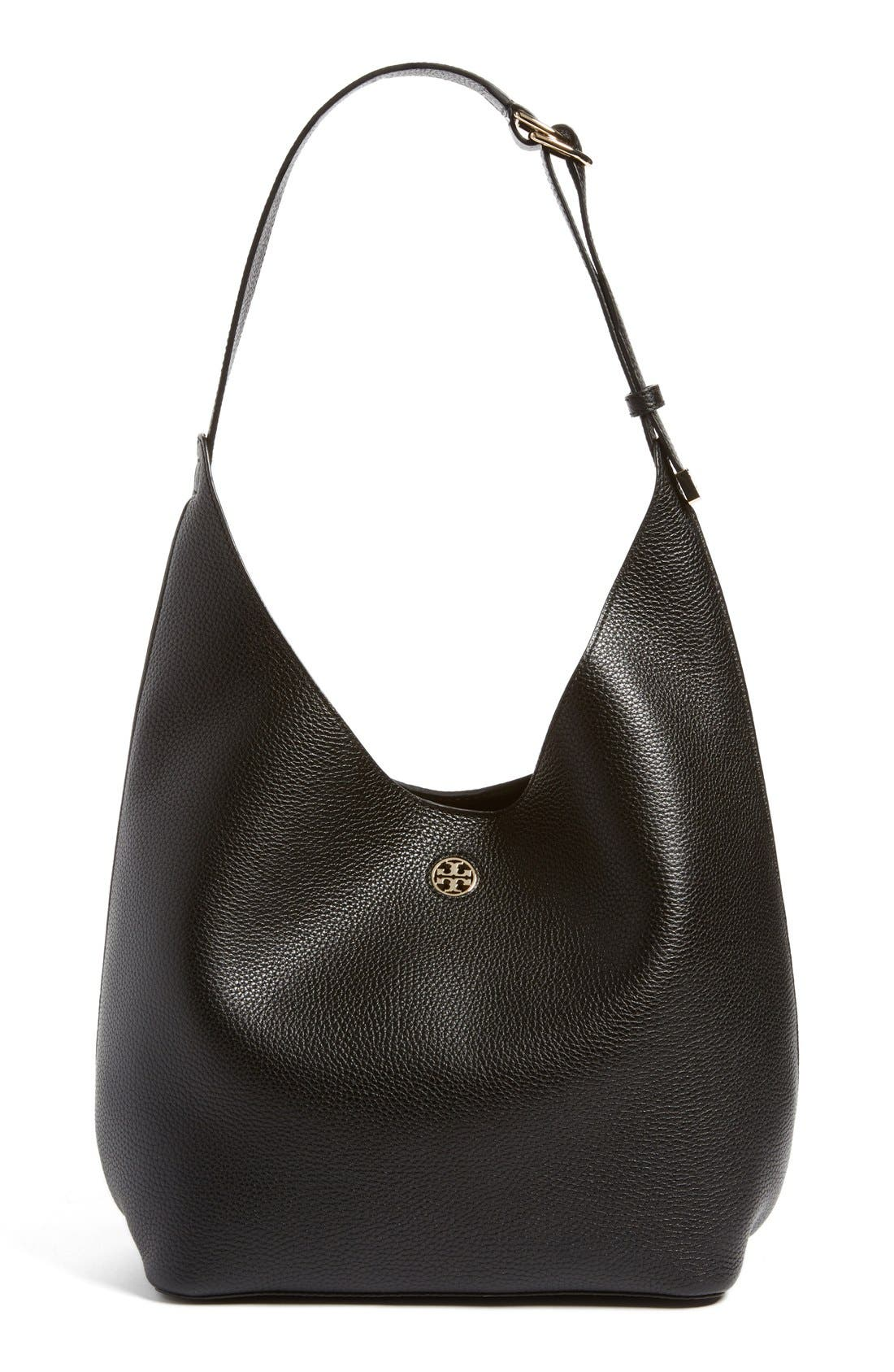Alternate Image 1 Selected - Tory Burch 'Perry' Leather Hobo