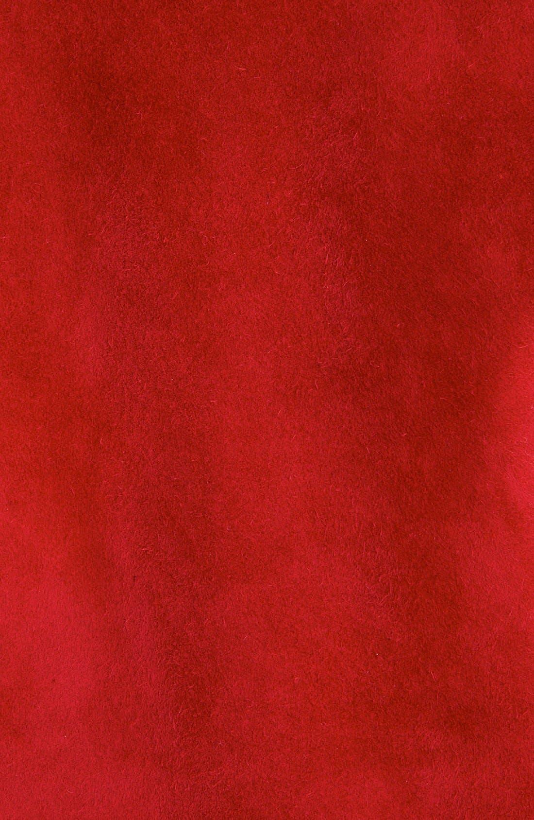 Alternate Image 3  - Loewe Suede Moto Jacket