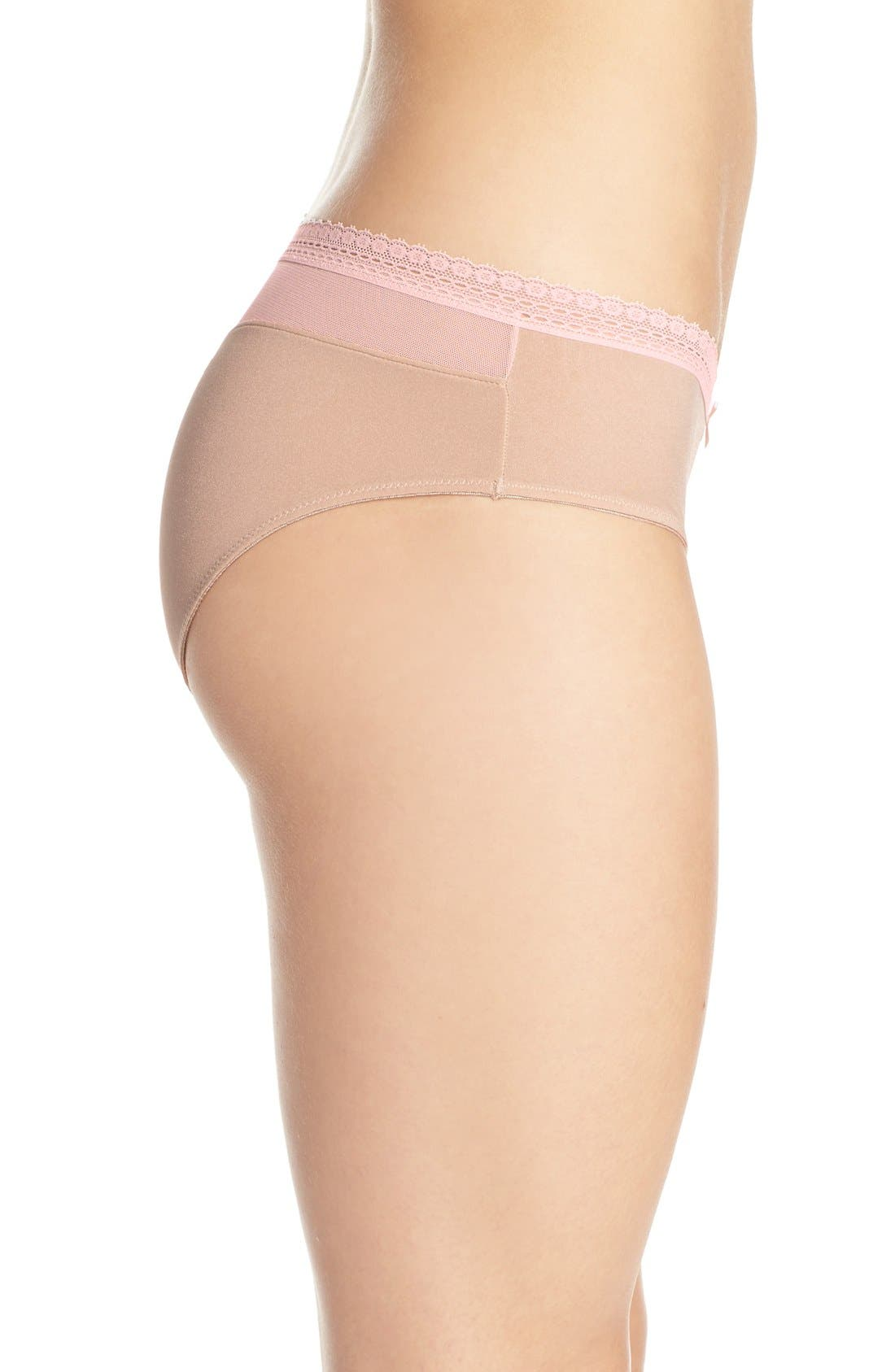 Alternate Image 3  - Betsey Johnson 'Forever Perfect - Cutie' Hipster Briefs (3 for $33)